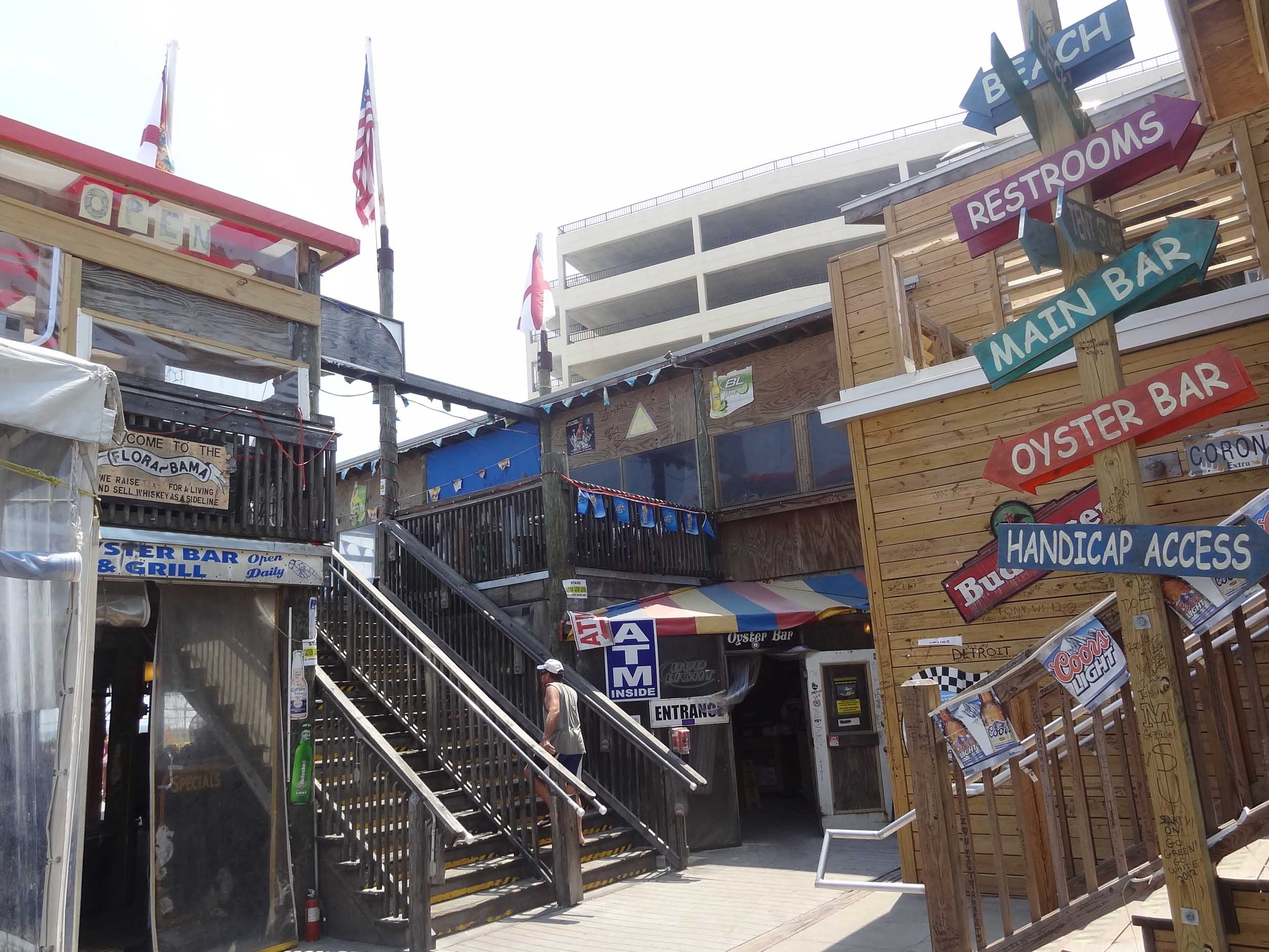 Flora-Bama Lounge and Package Entrance