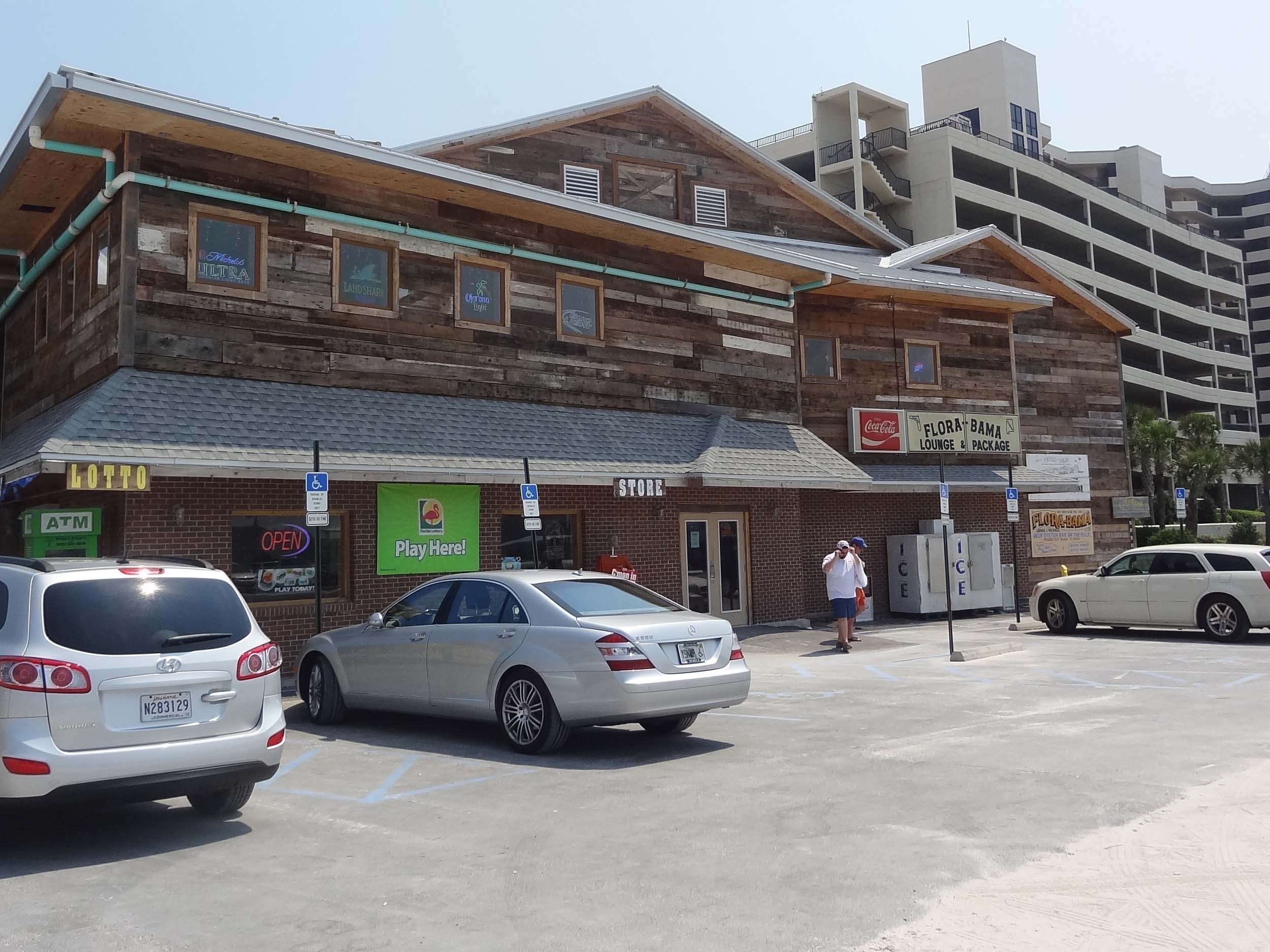 Flora-Bama Lounge and Package Exterior