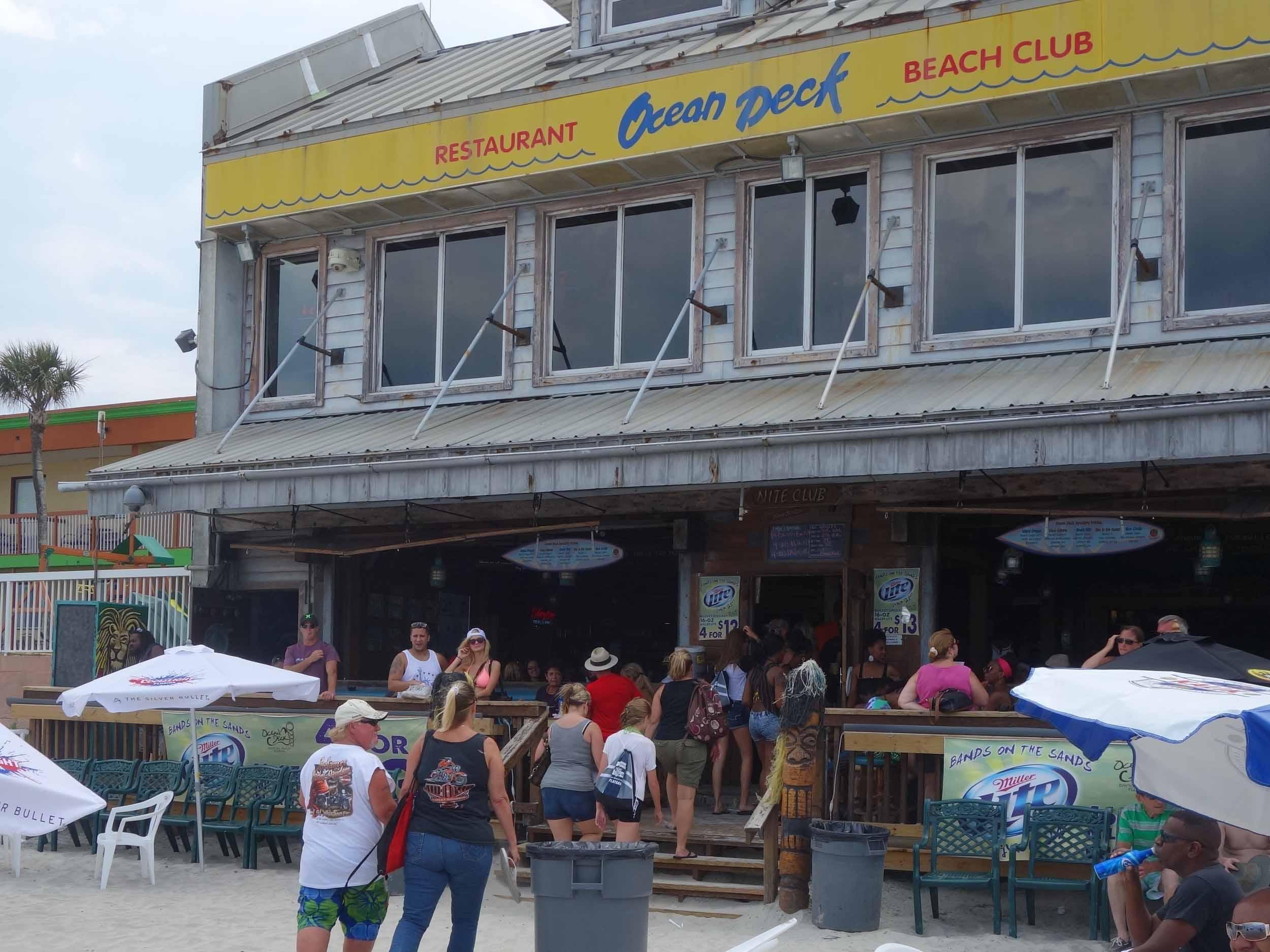 Ocean Club Restaurant and Beach Club Exterior
