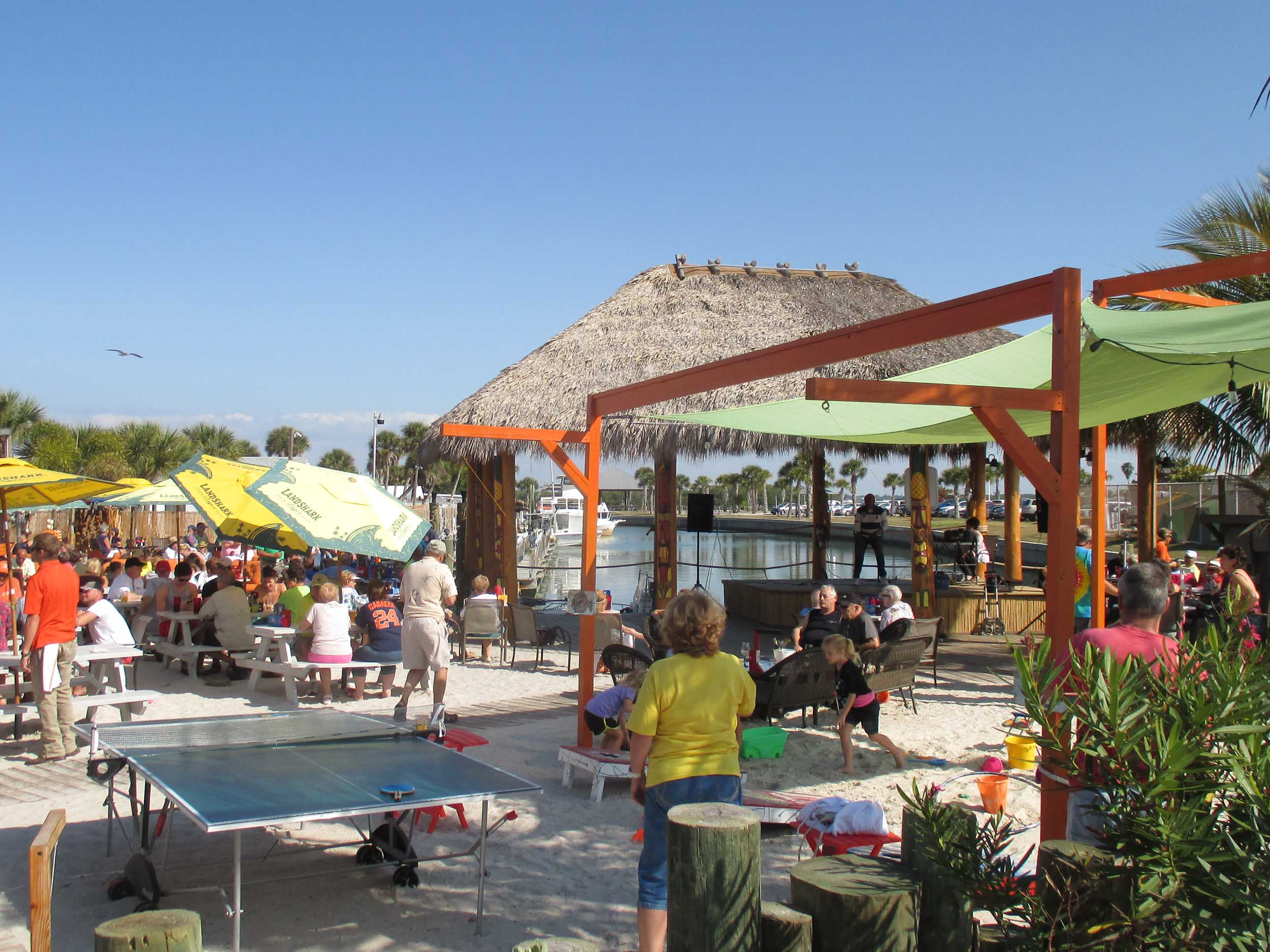 SandBar Tiki and Grille Outside Area