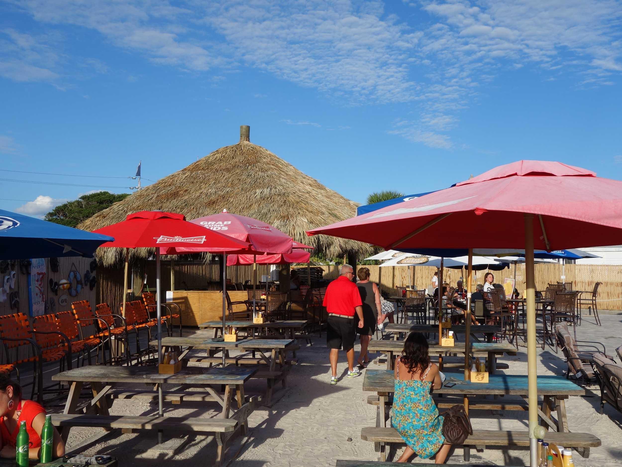 SandBar Tiki and Grille Seating Area