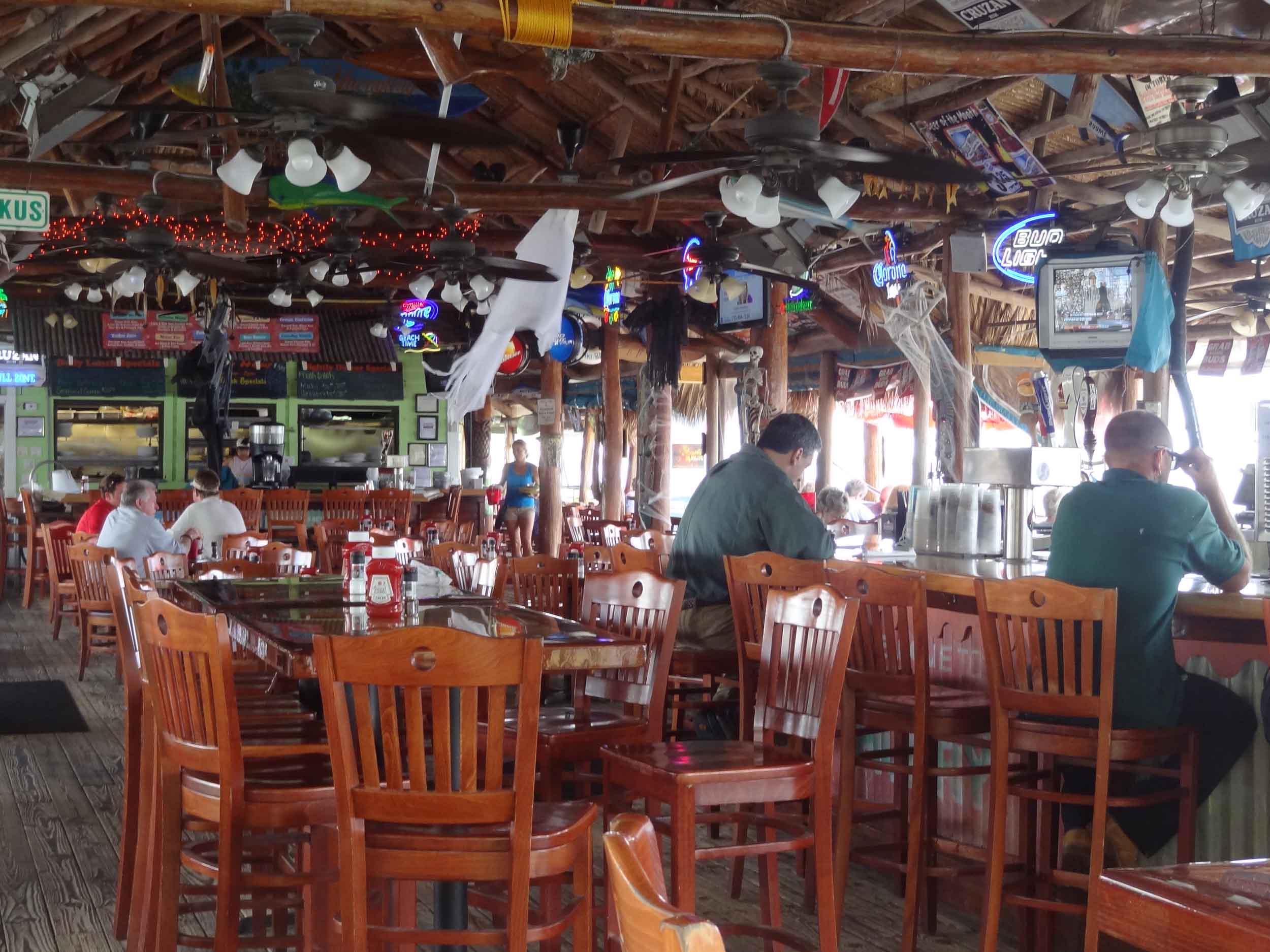 Original Tiki Bar Interior