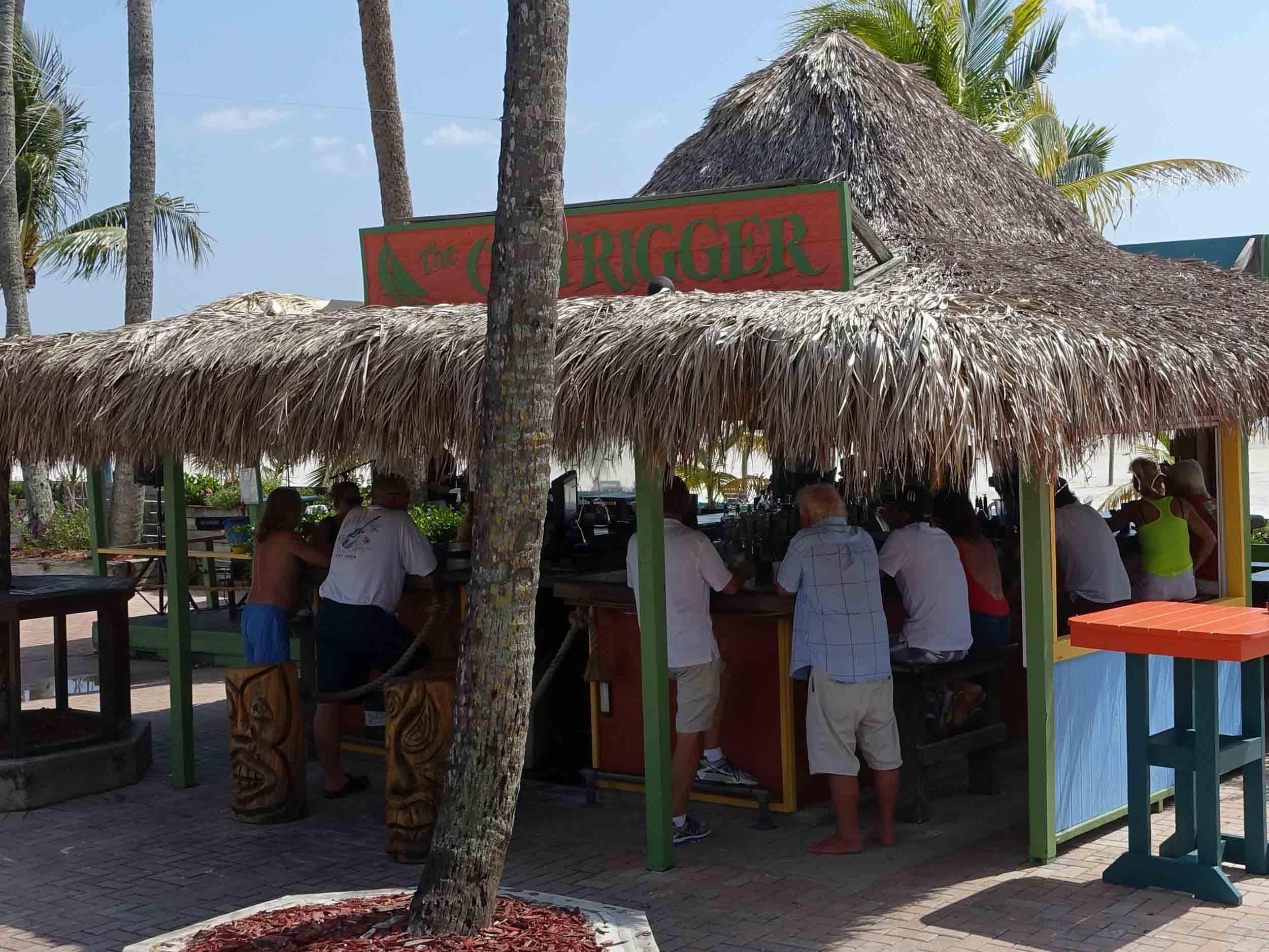 Outrigger Tiki Bar Area