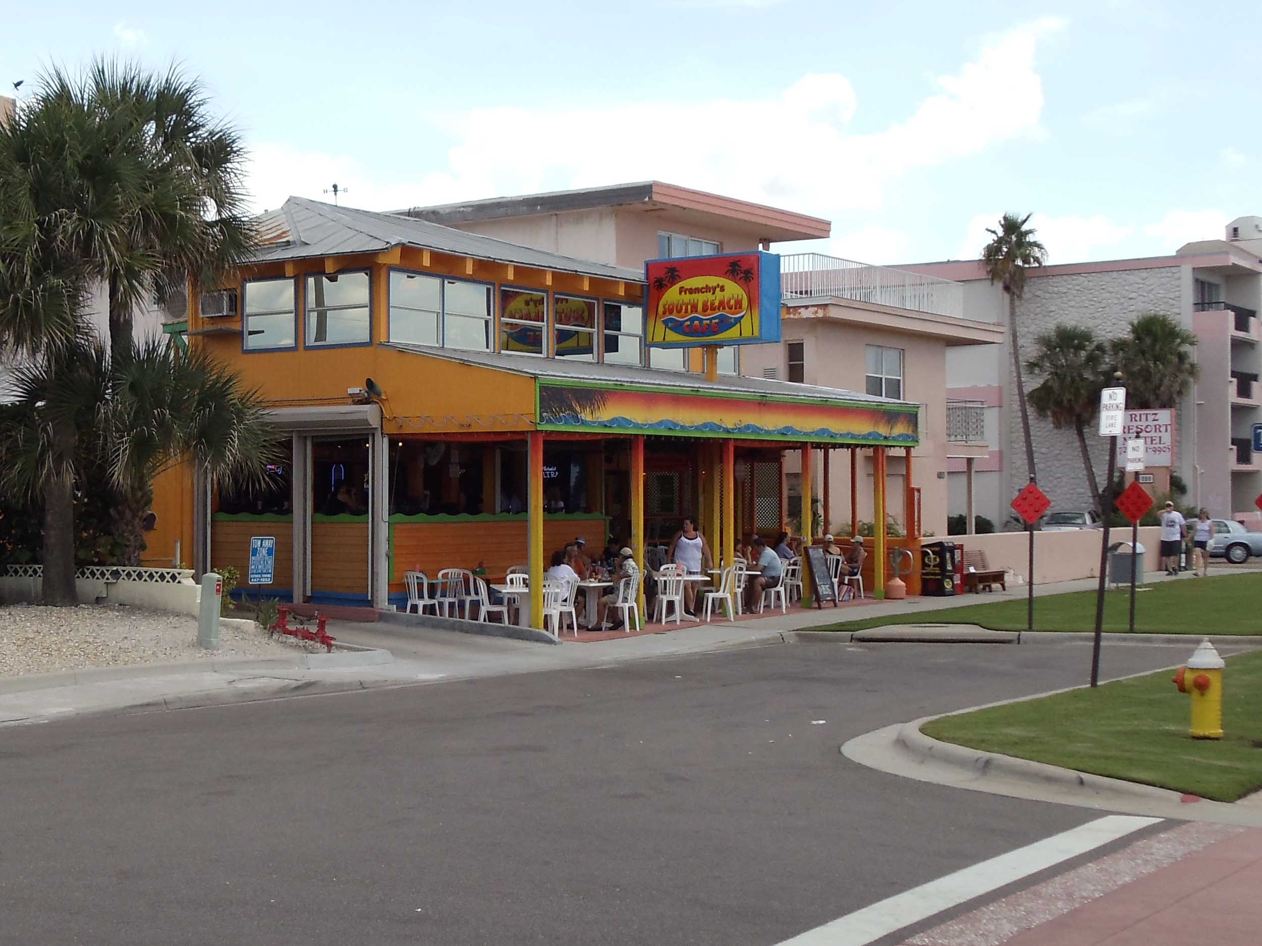 Frenchy's South Beach Cafe Exterior