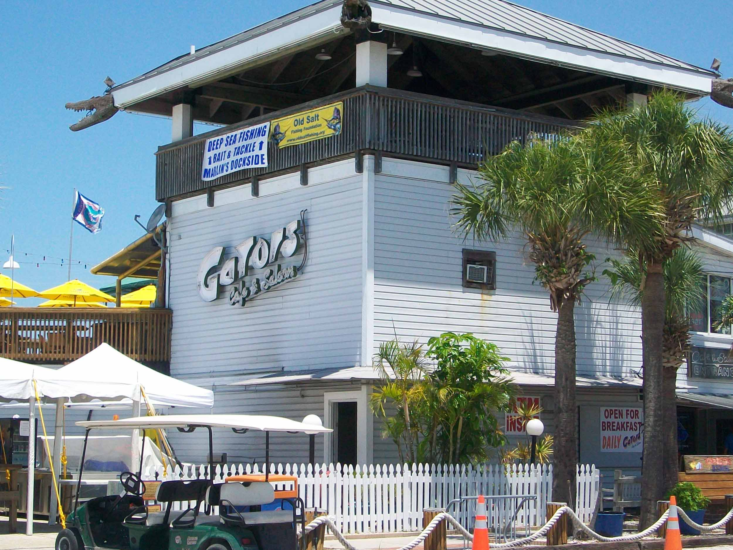 Gator's Cafe and Saloon Entrance