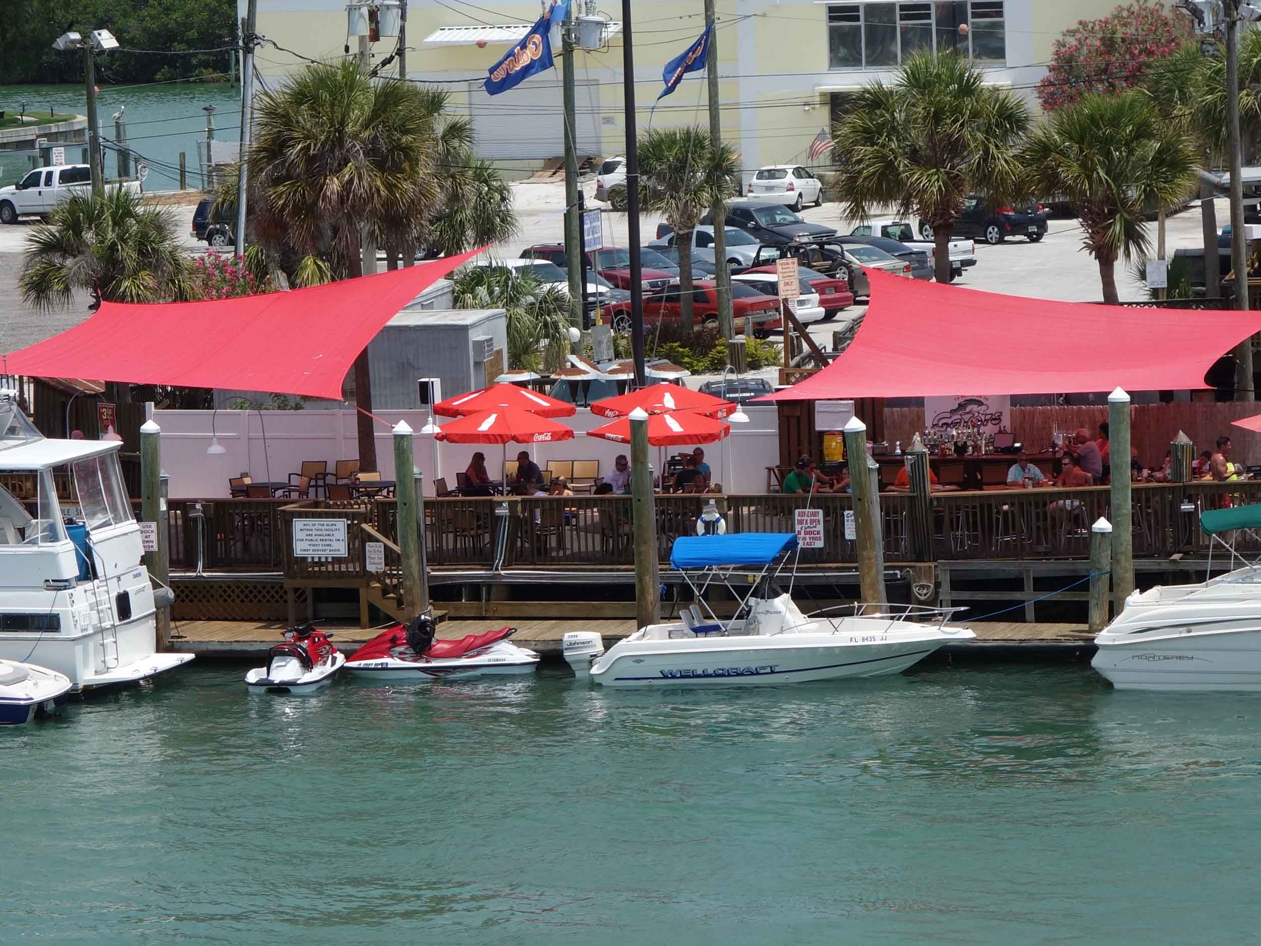 Gator's Cafe and Saloon Water View