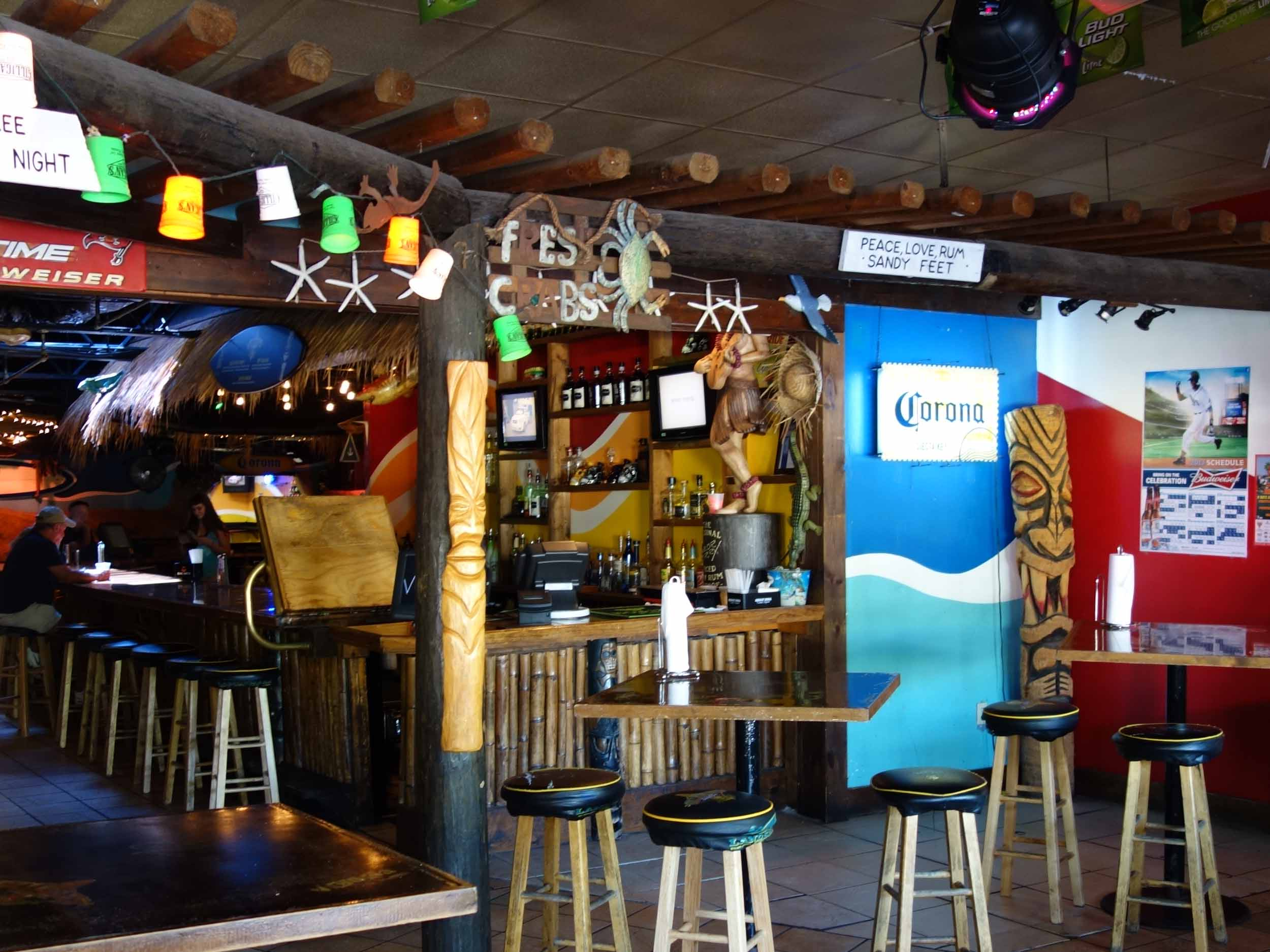 Gilligan's Island Bar and Grill Interior Bar