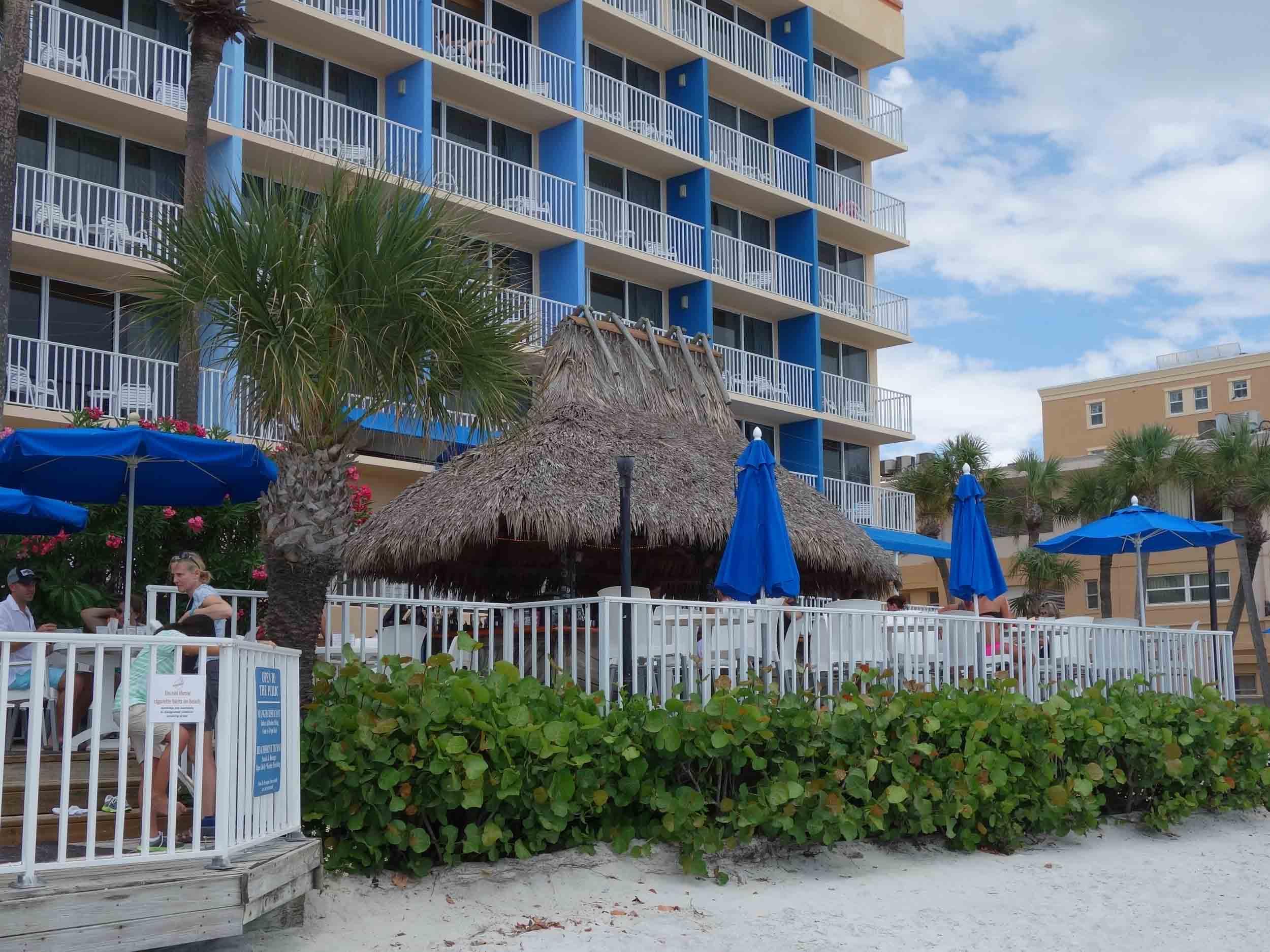 Mangos Restaurant and Tiki Bar Exterior
