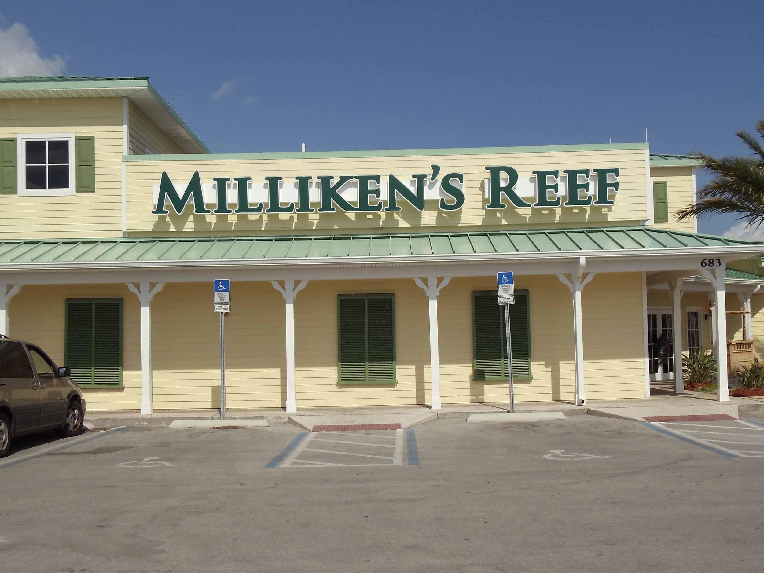 Milliken's Reef Exterior