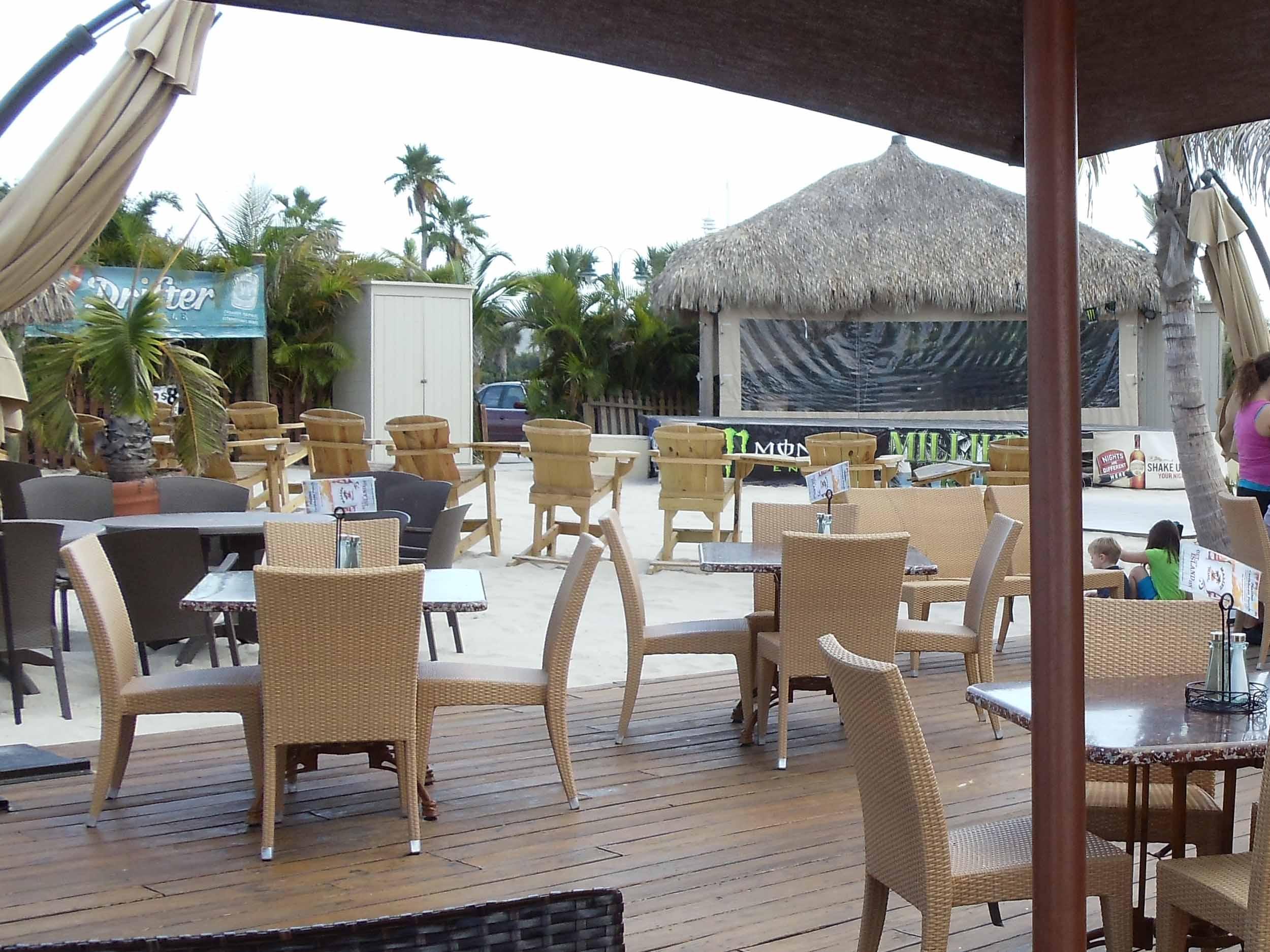 Milliken's Reef Seating Area