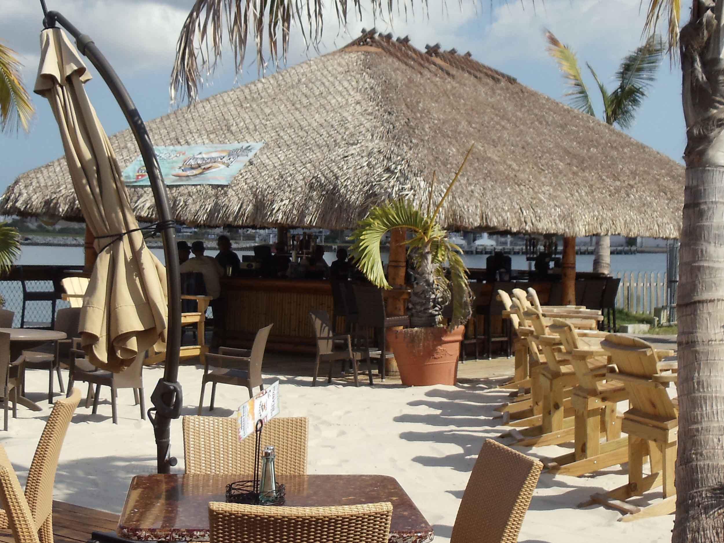 Milliken's Reef Tiki Bar Area