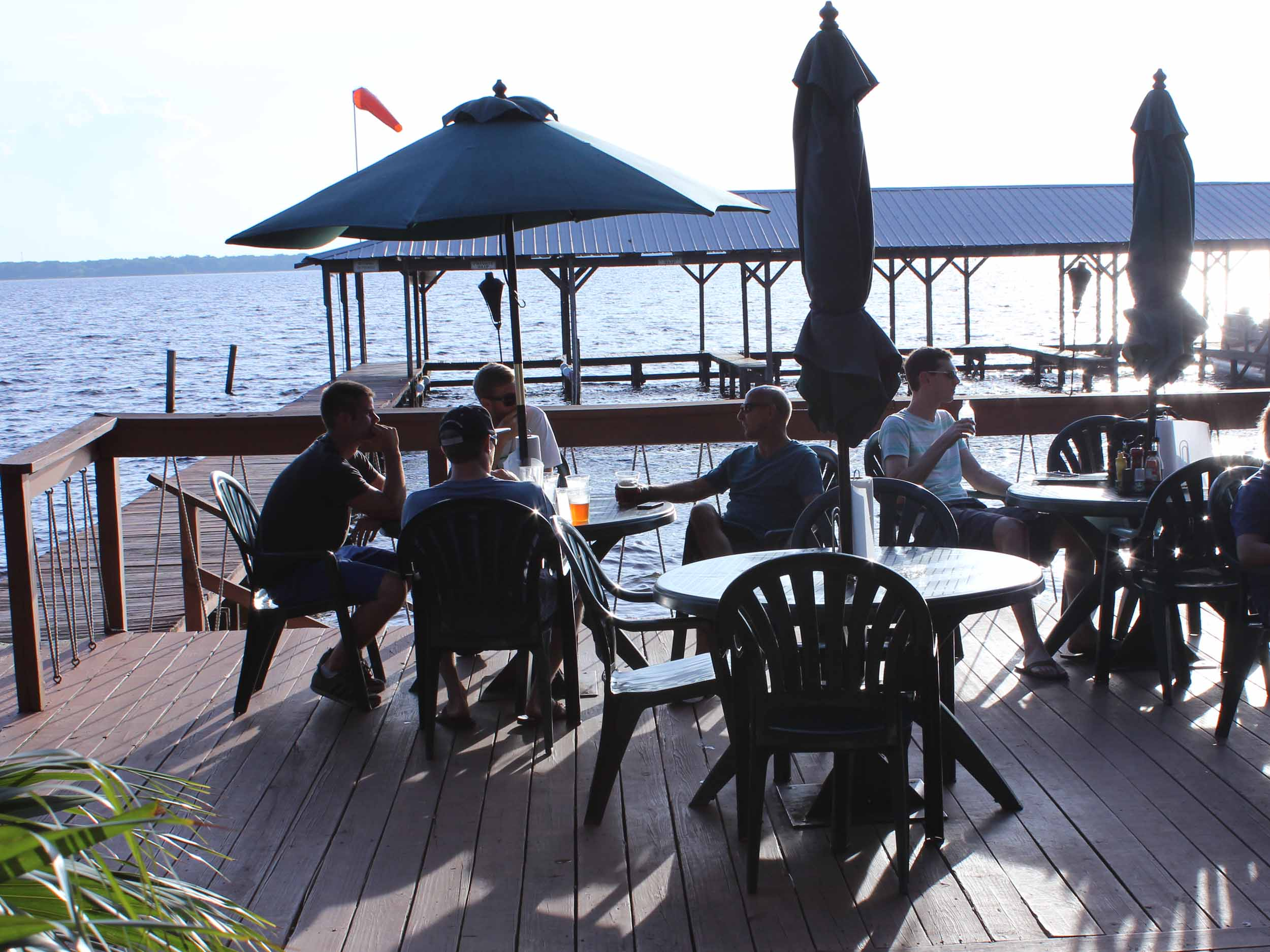 Minneola Tiki Bar Dining Area