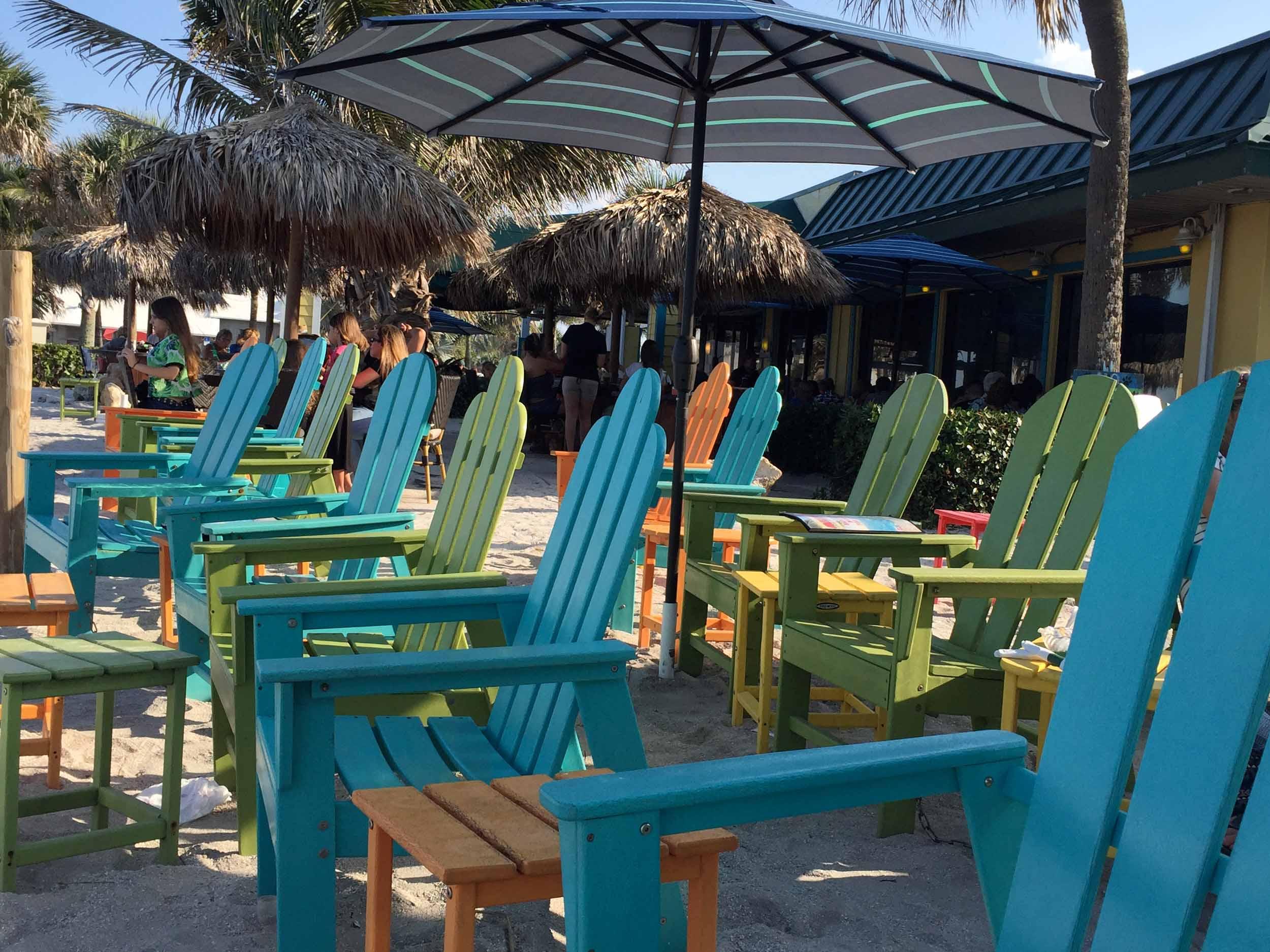 Mulligan's Beach House Bar and Grill Beach Chairs
