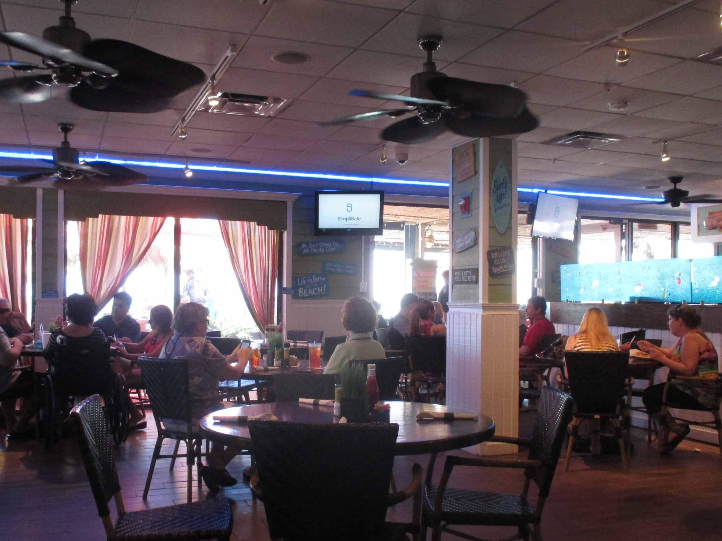 Mulligan's Beach House Bar and Grill Interior