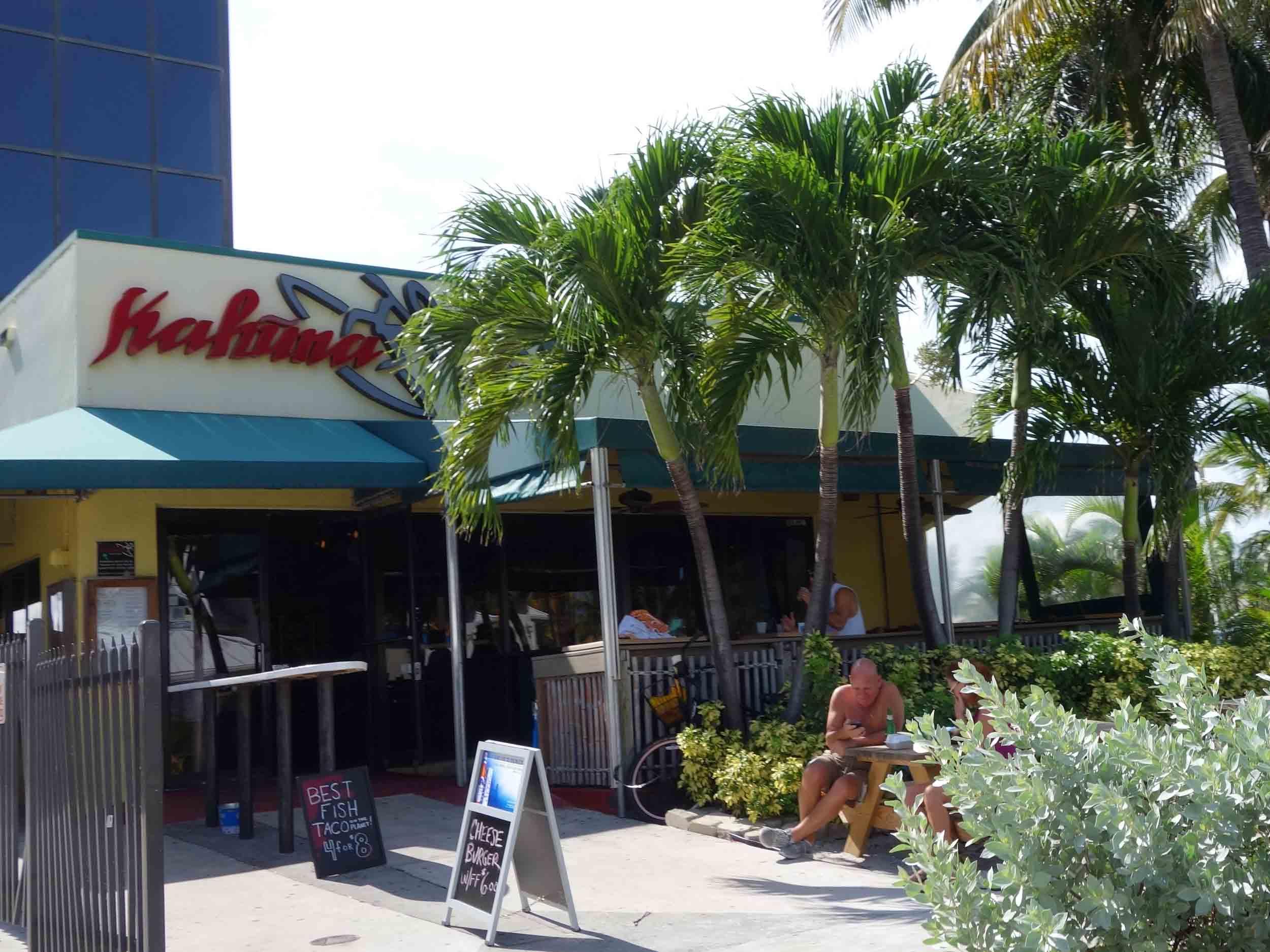 Kahuna Bar and Grill Exterior