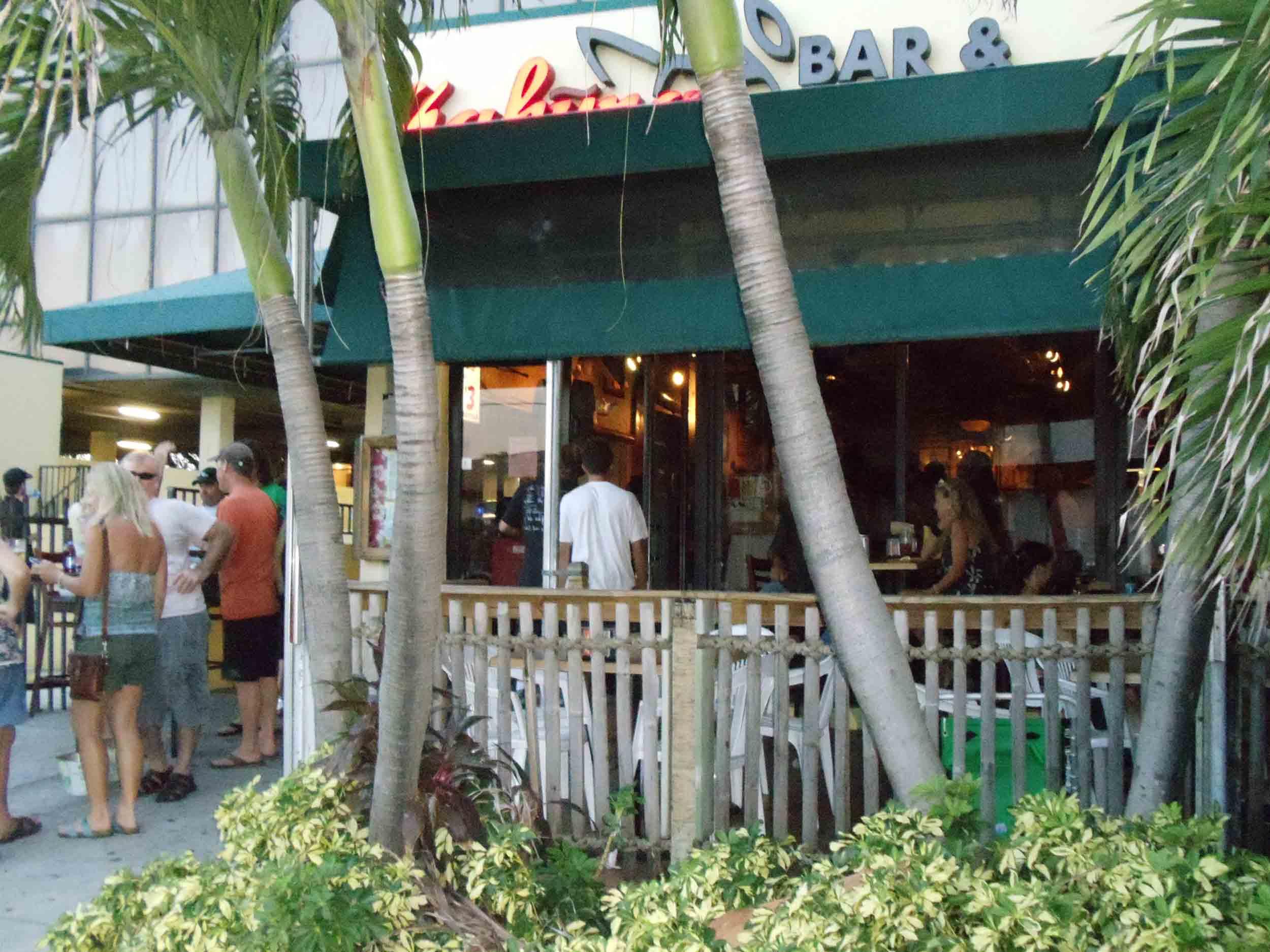 Kahuna Bar and Grill Bar Area