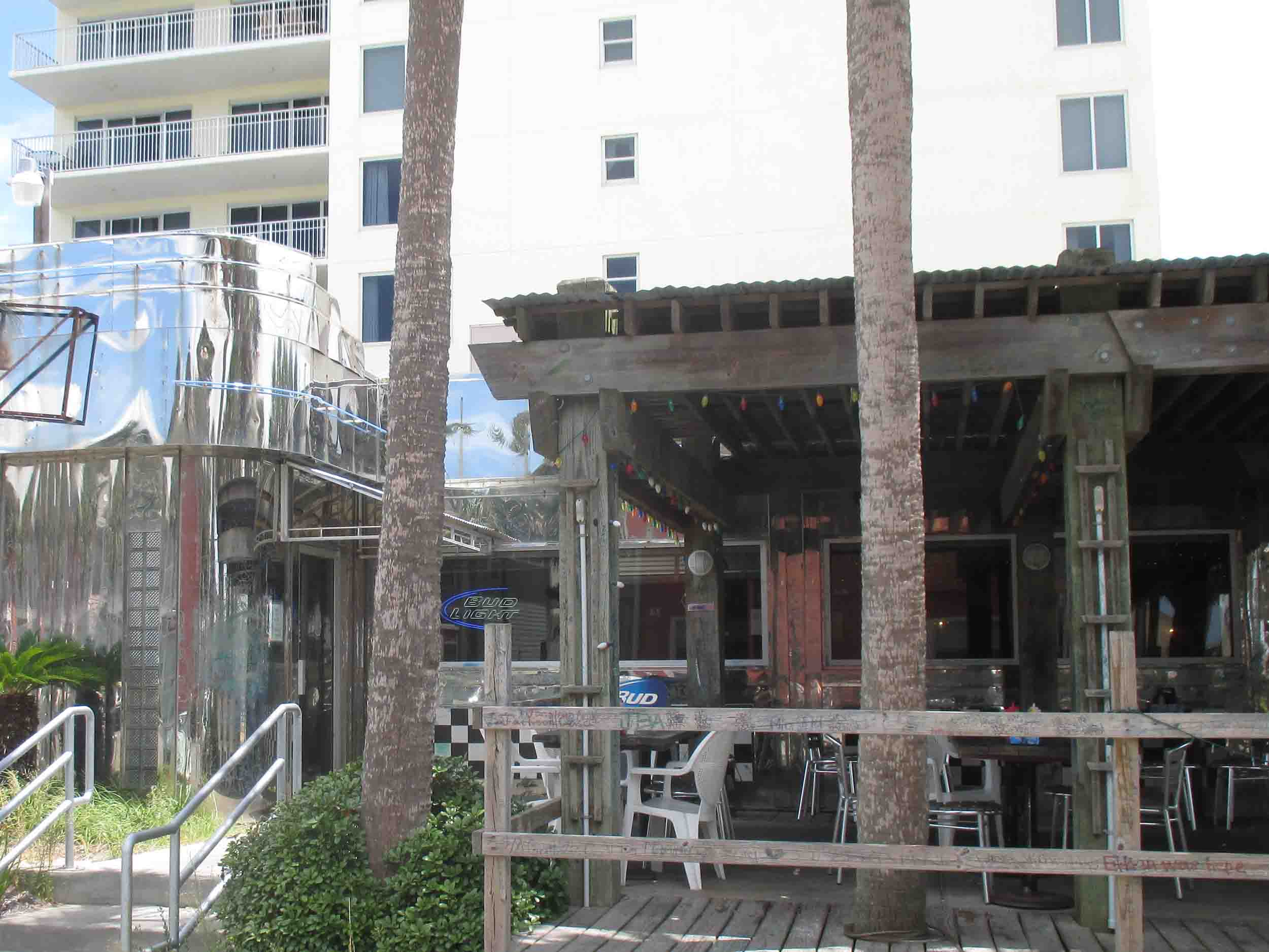 Kenny D's Beach Bar and Grill Dining Area