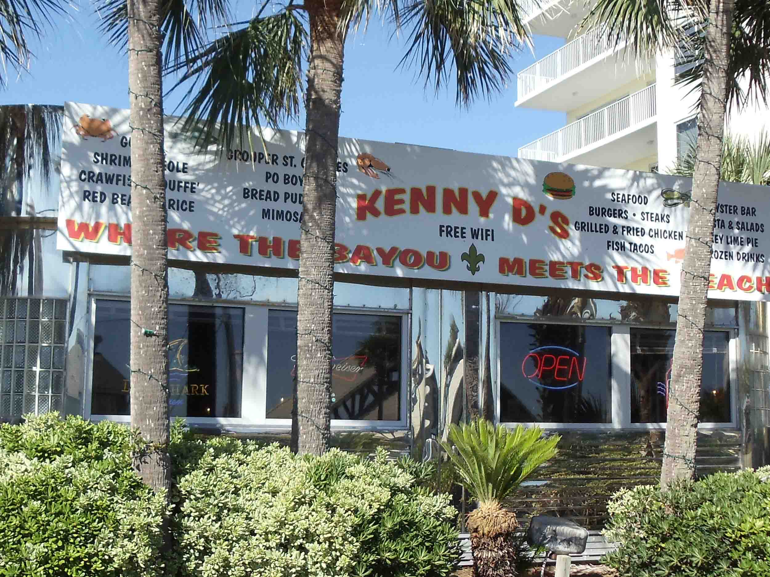 Kenny D's Beach Bar and Grill Exterior