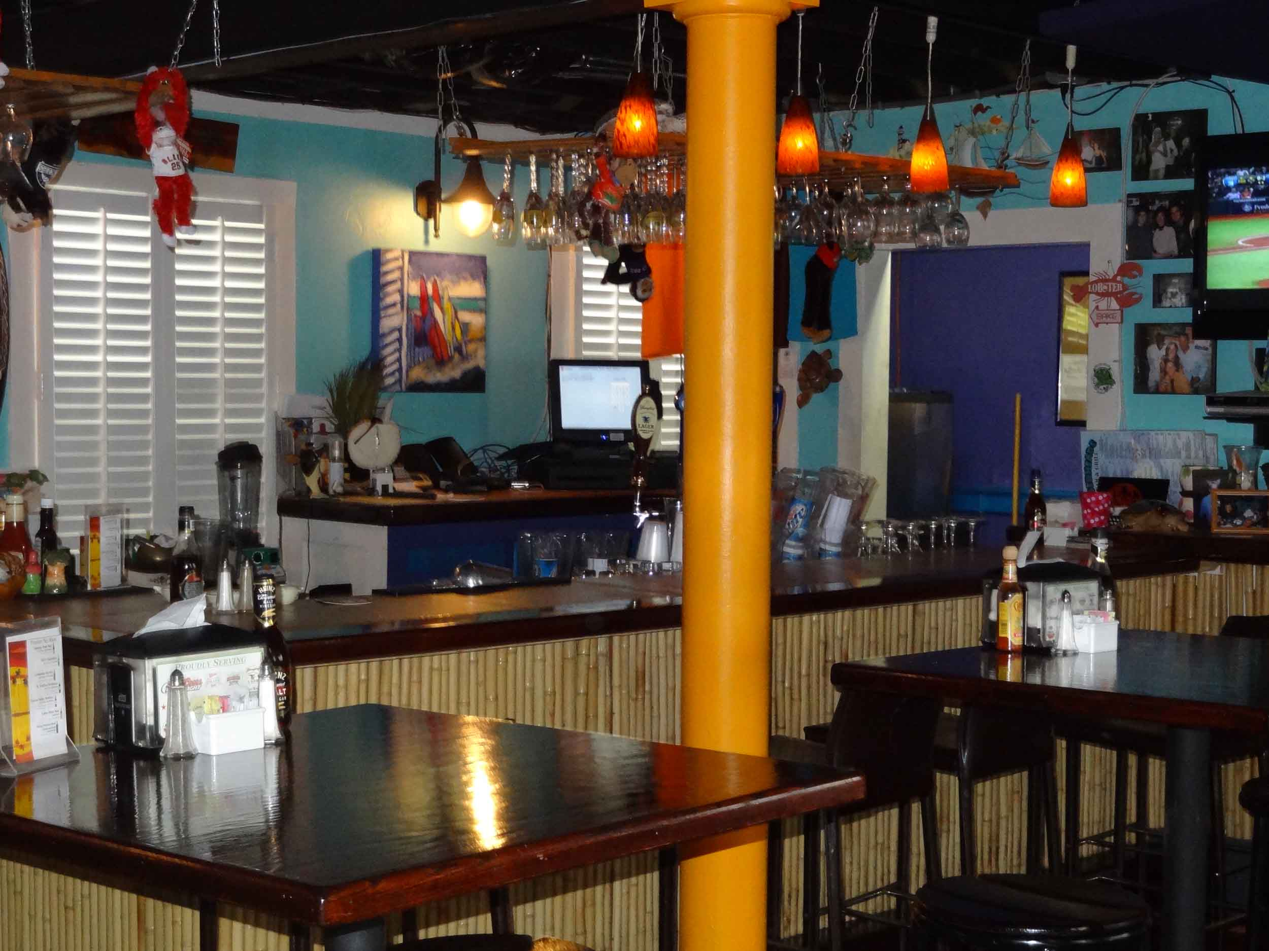 Lagerheads Bar and Grill Dining Area