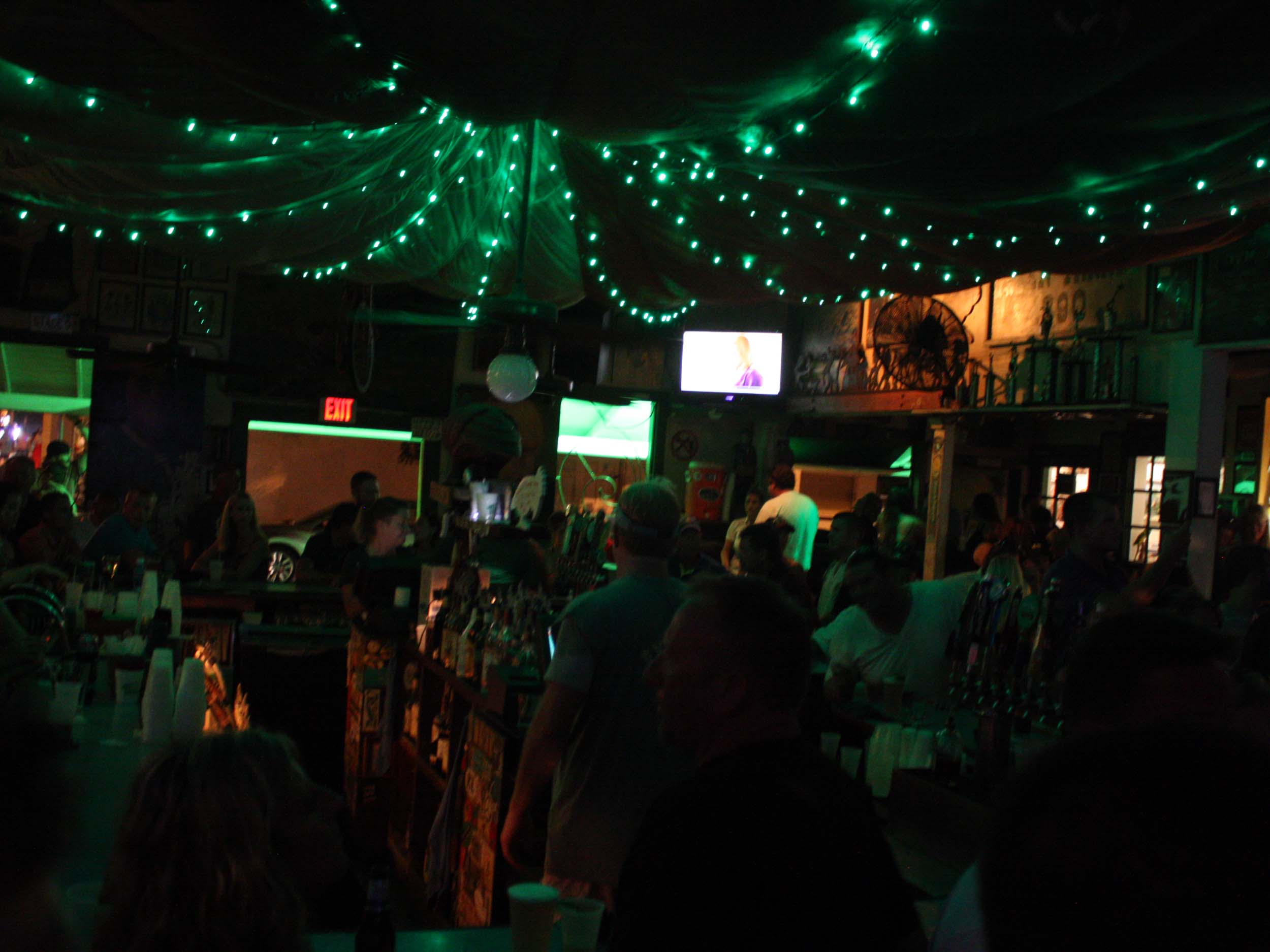 Green Parrot Bar Interior