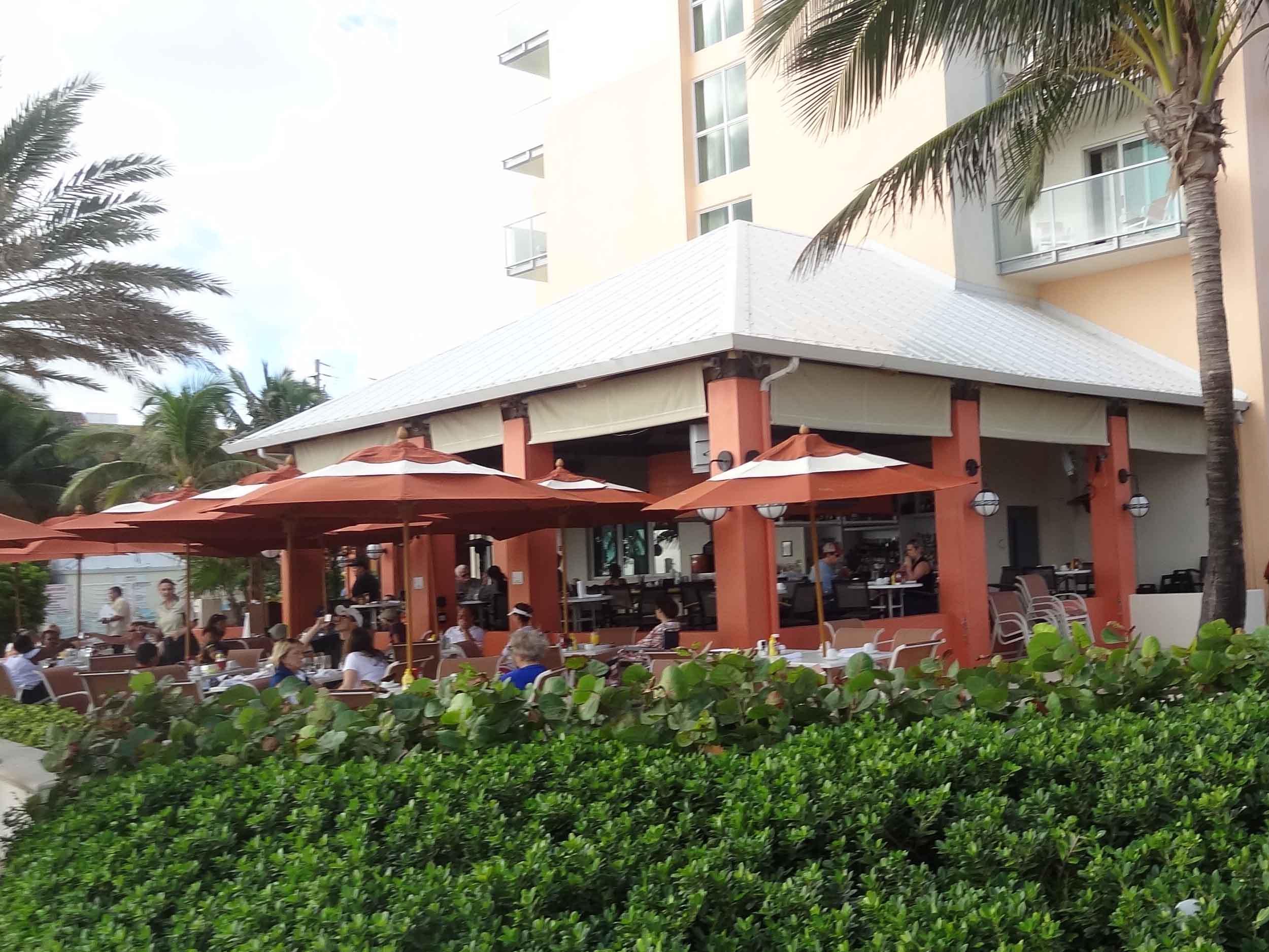 Latitudes Tiki Bar Exterior