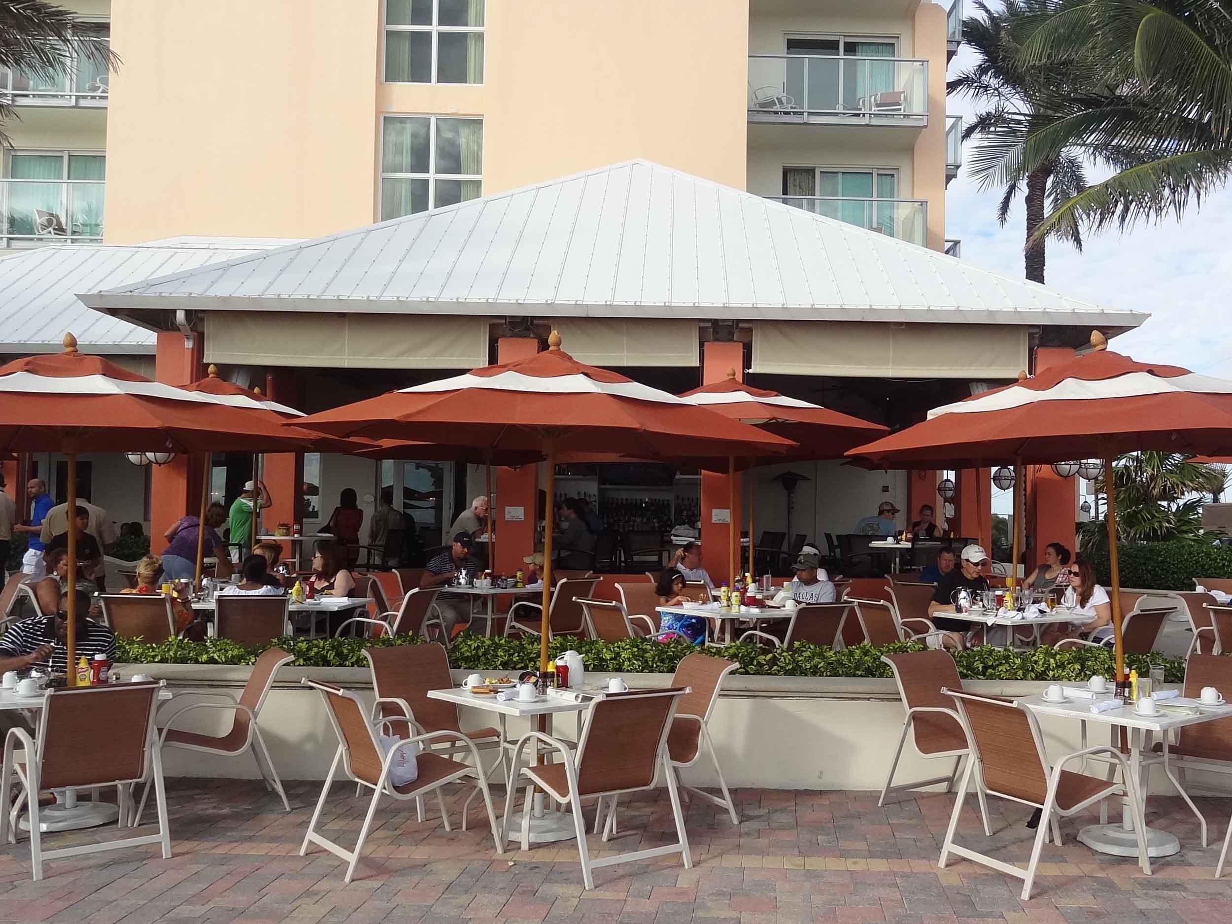 Latitudes Tiki Bar Dining Area