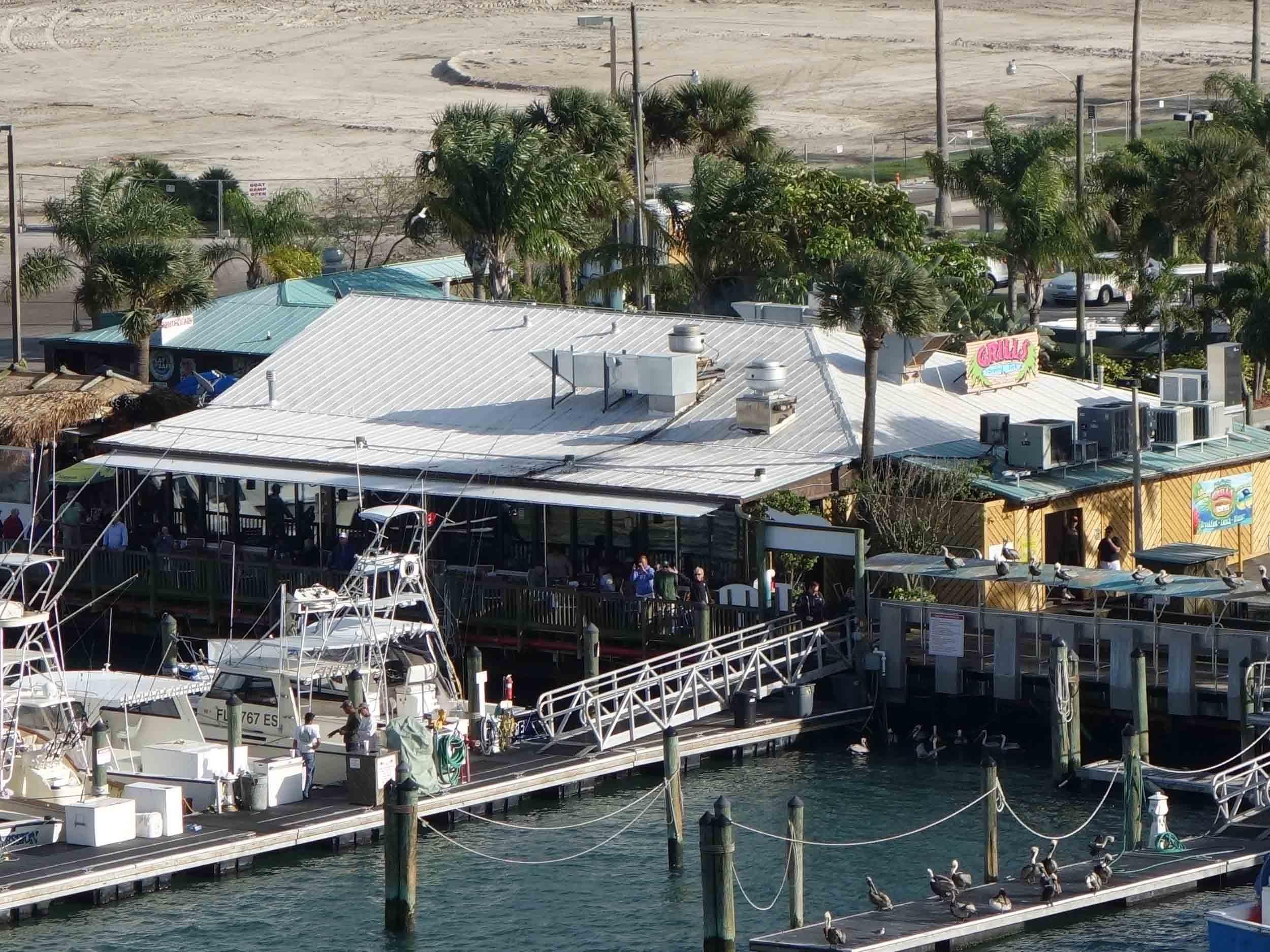 Grills Seafood Deck and Tiki Bar Exterior