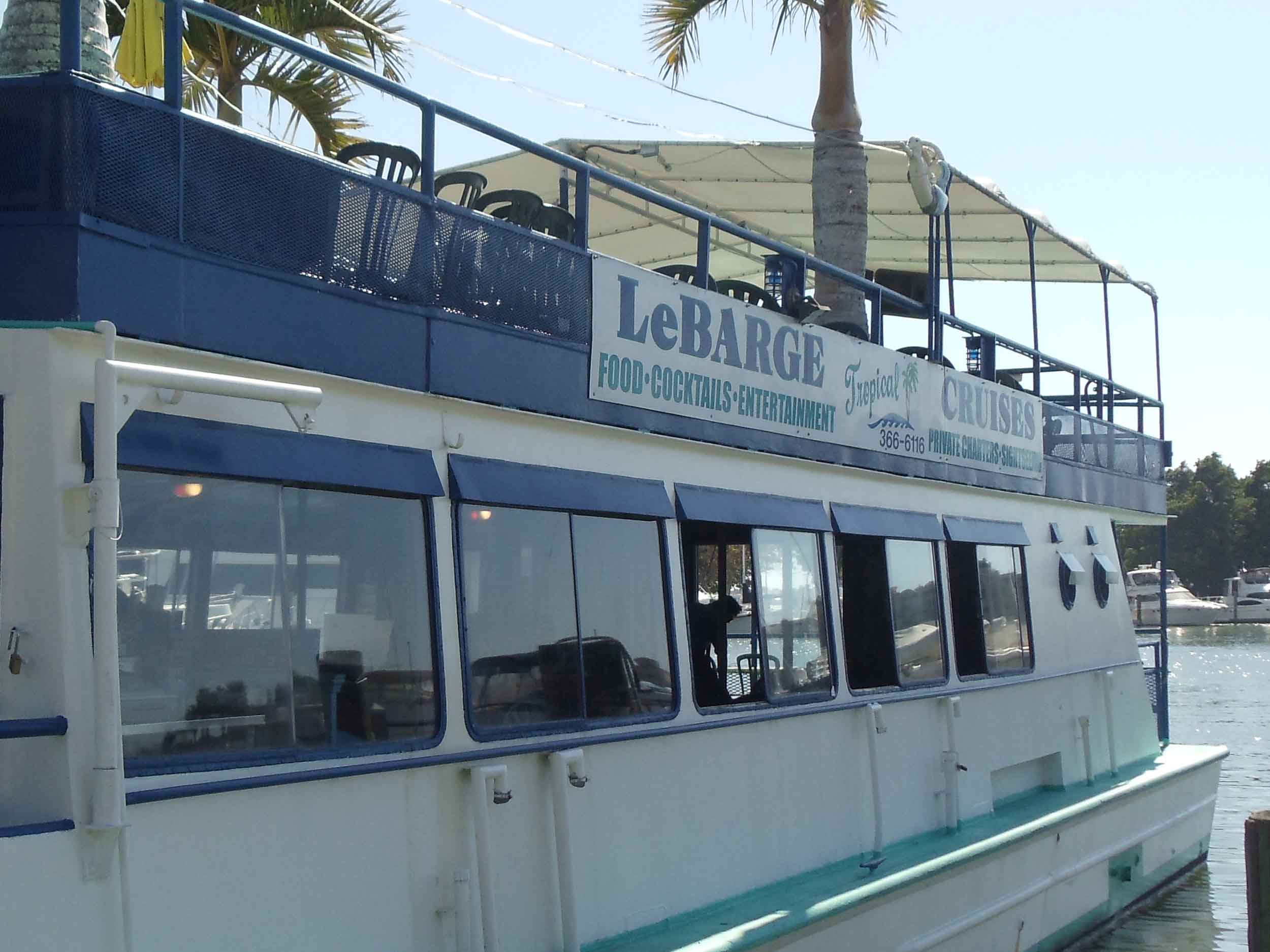 LeBarge Tropical Cruise Exterior