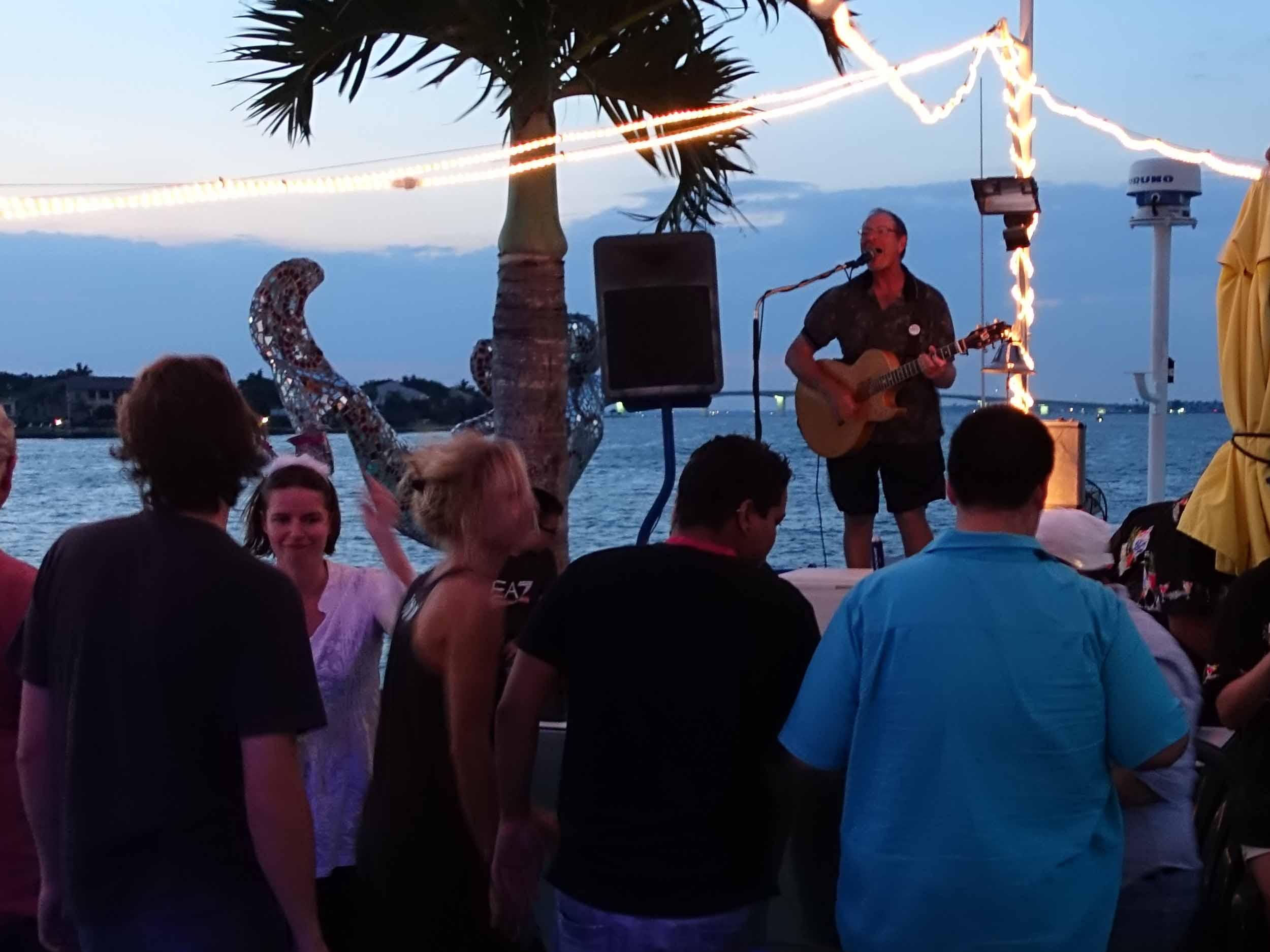 LeBarge Tropical Cruise Live Music