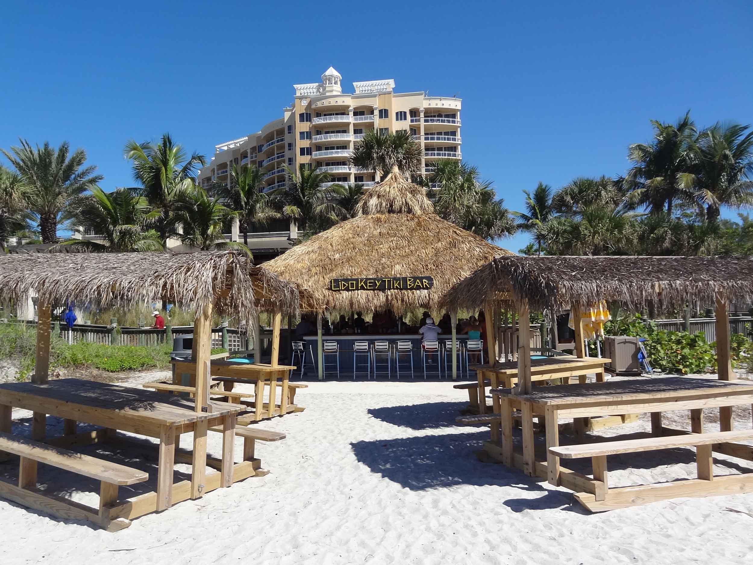 Lido Key Tiki Bar in the Sand