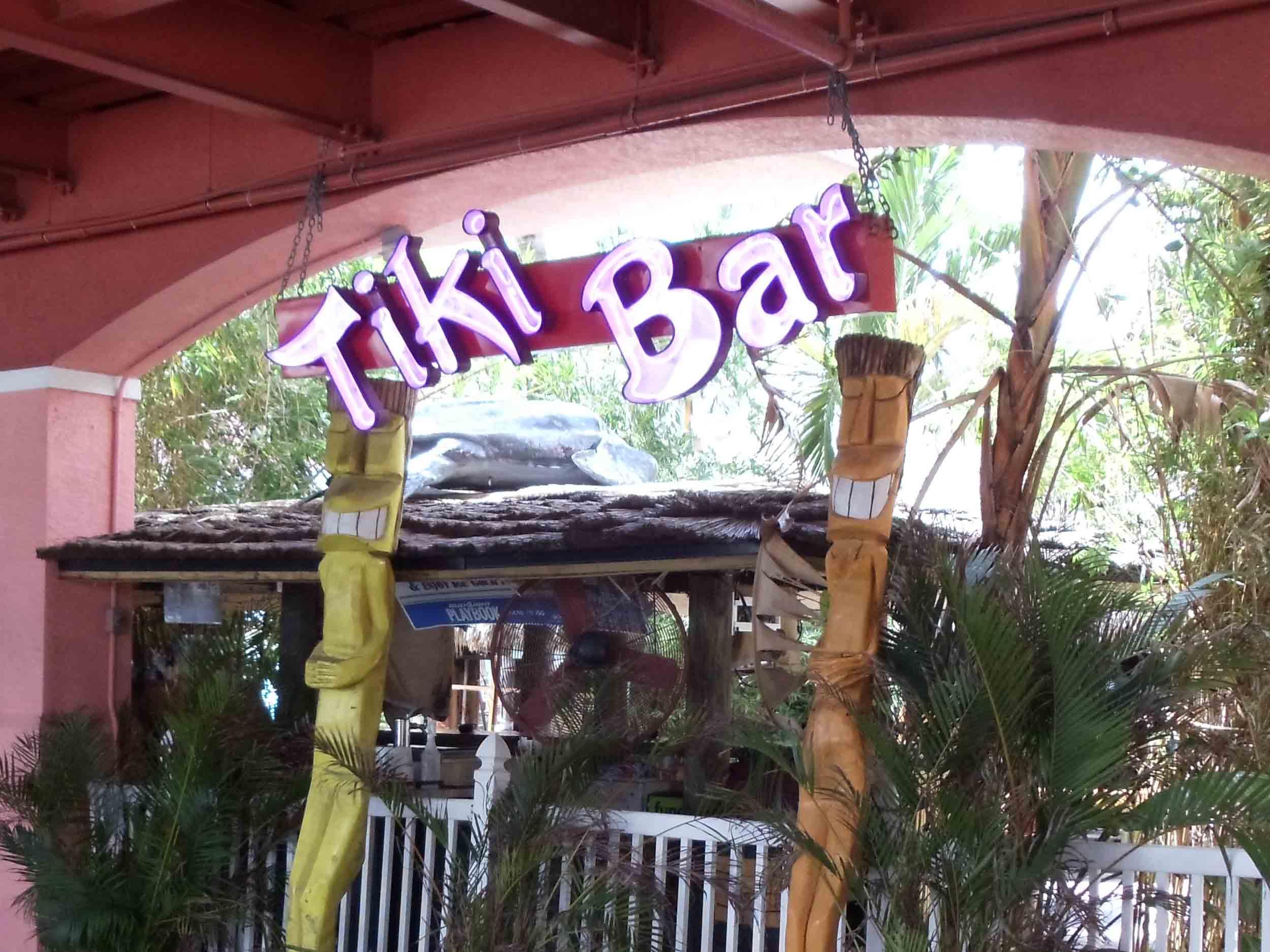 Lighthouse Resort Tiki Bar and Grill Entrance
