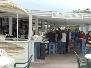 Lorelei Restaurant and Cabana Bar Area