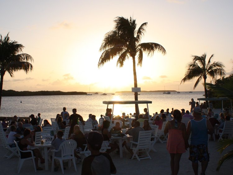 Lorelei Restaurant and Cabana Bar Sunset