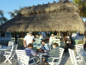 Lorelei Restaurant and Cabana Bar Seating Area