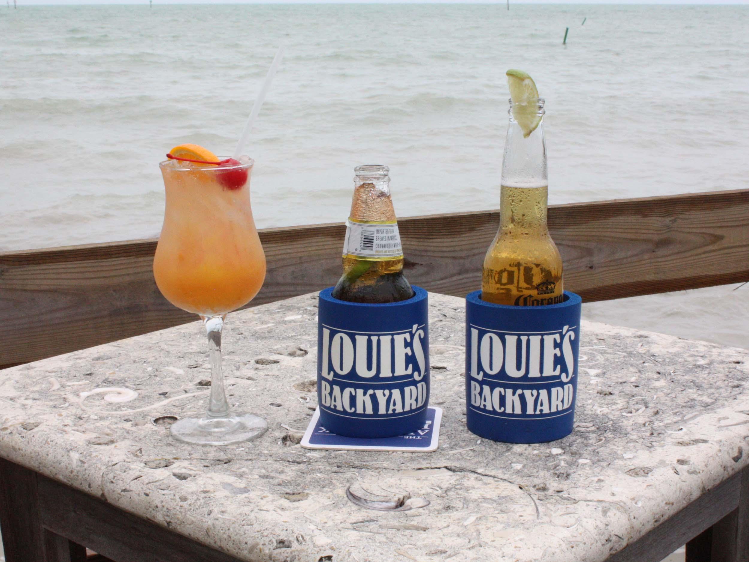 Louie's Backyard Drinks