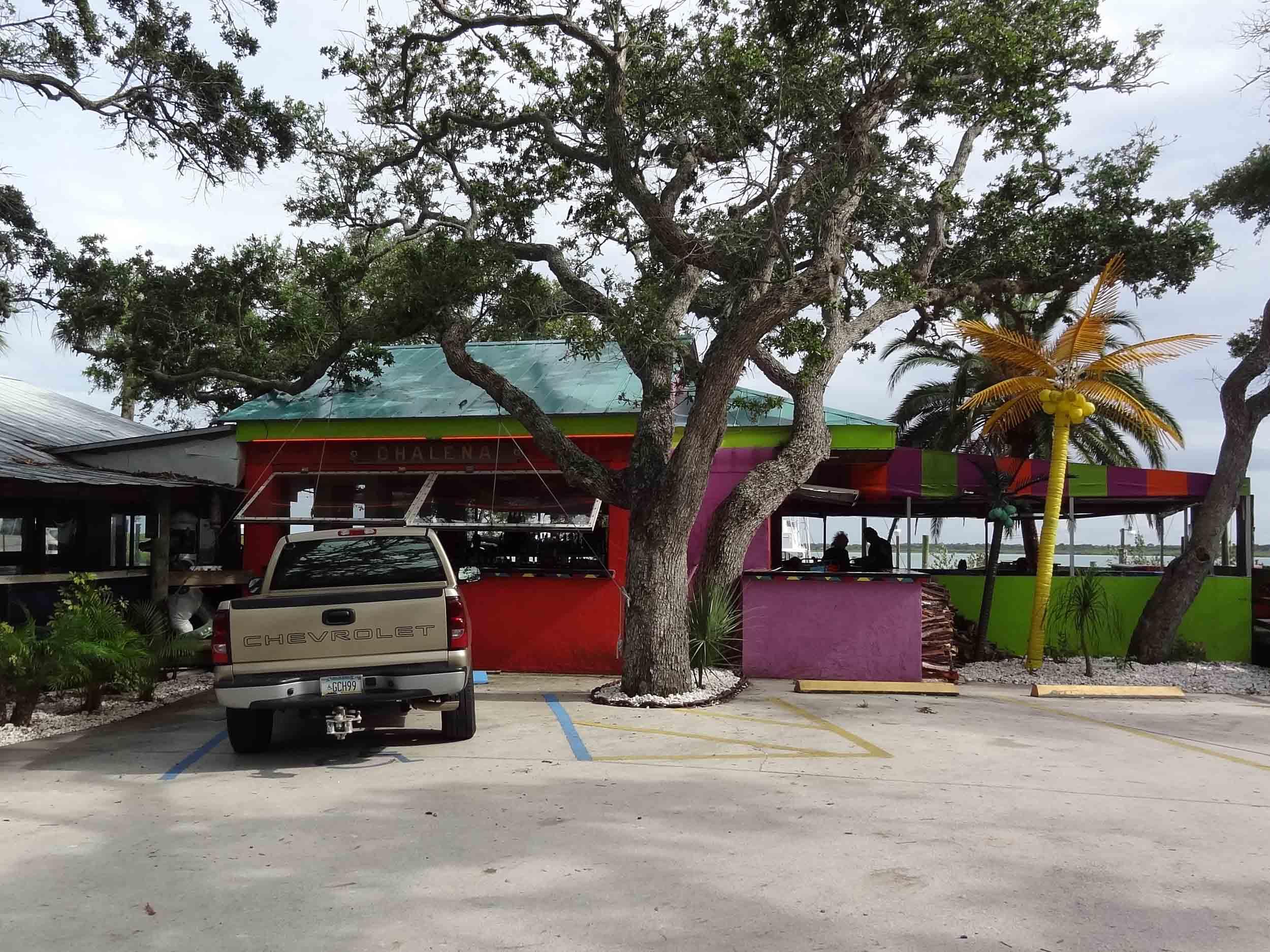 Hidden Treasure Rum Bar and Grill Entrance