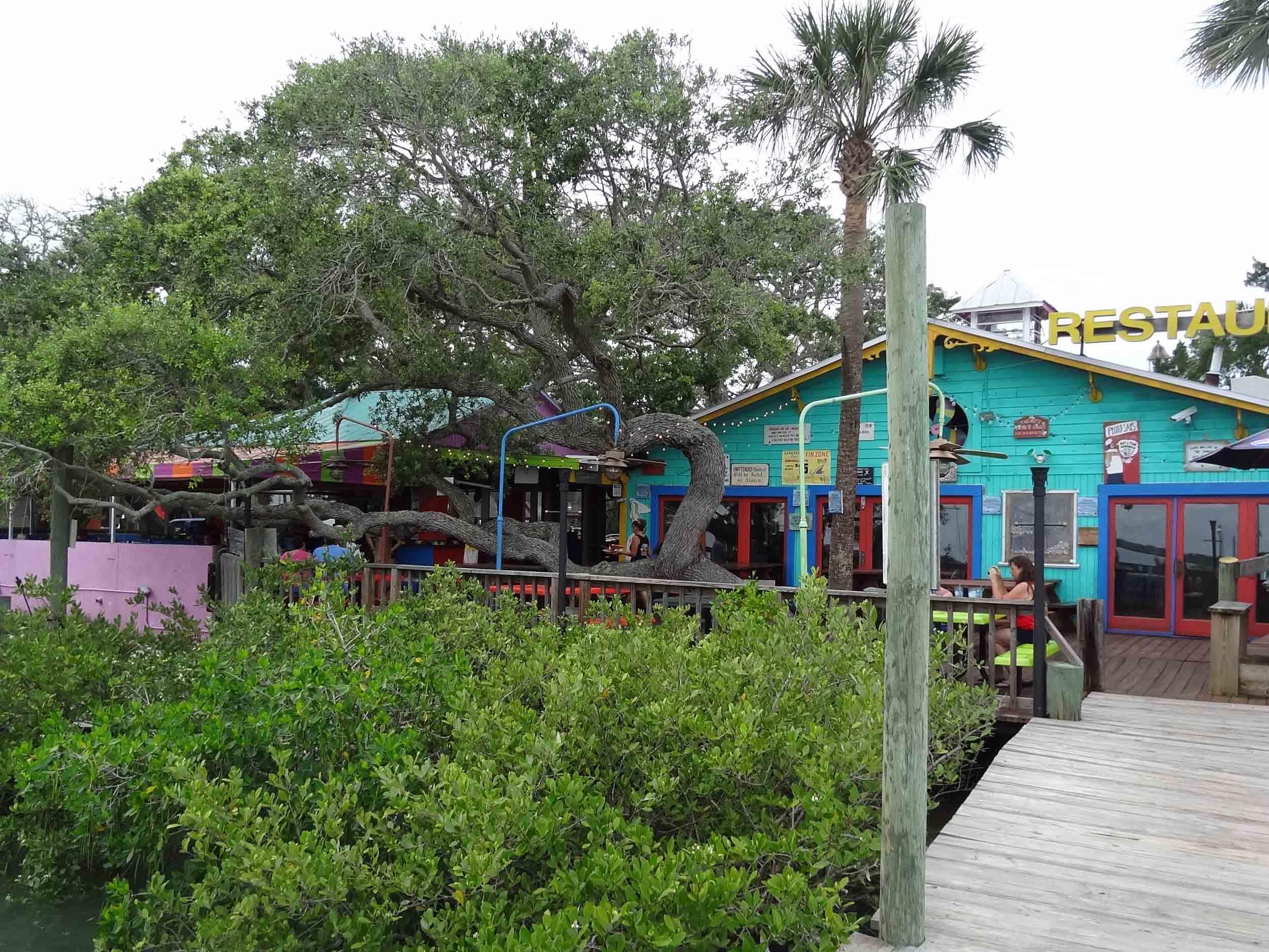 Hidden Treasure Rum Bar and Grill Exterior
