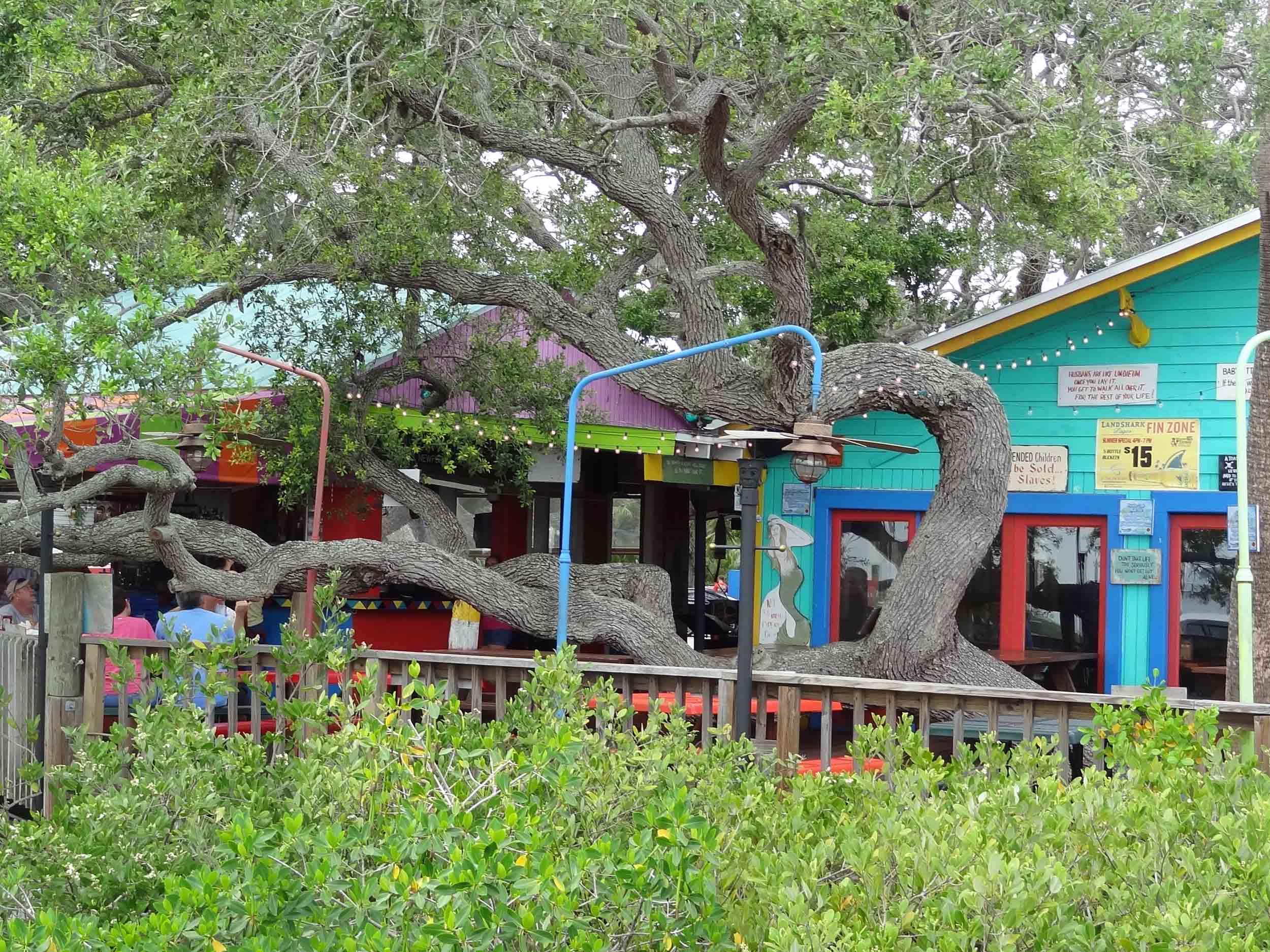 Hidden Treasure Rum Bar and Grill Patio