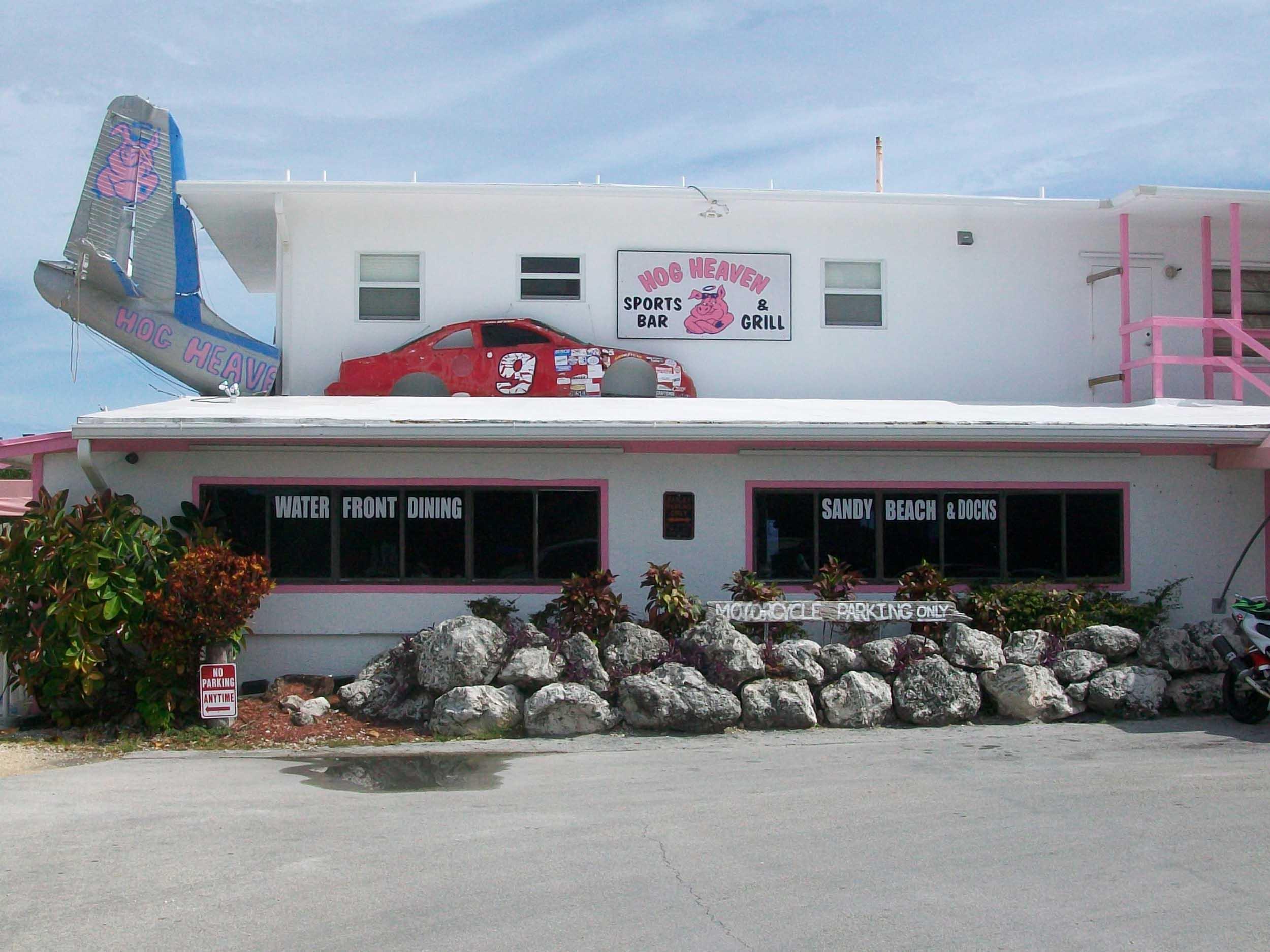 Hog Heaven Sports Bar and Grill Entrance