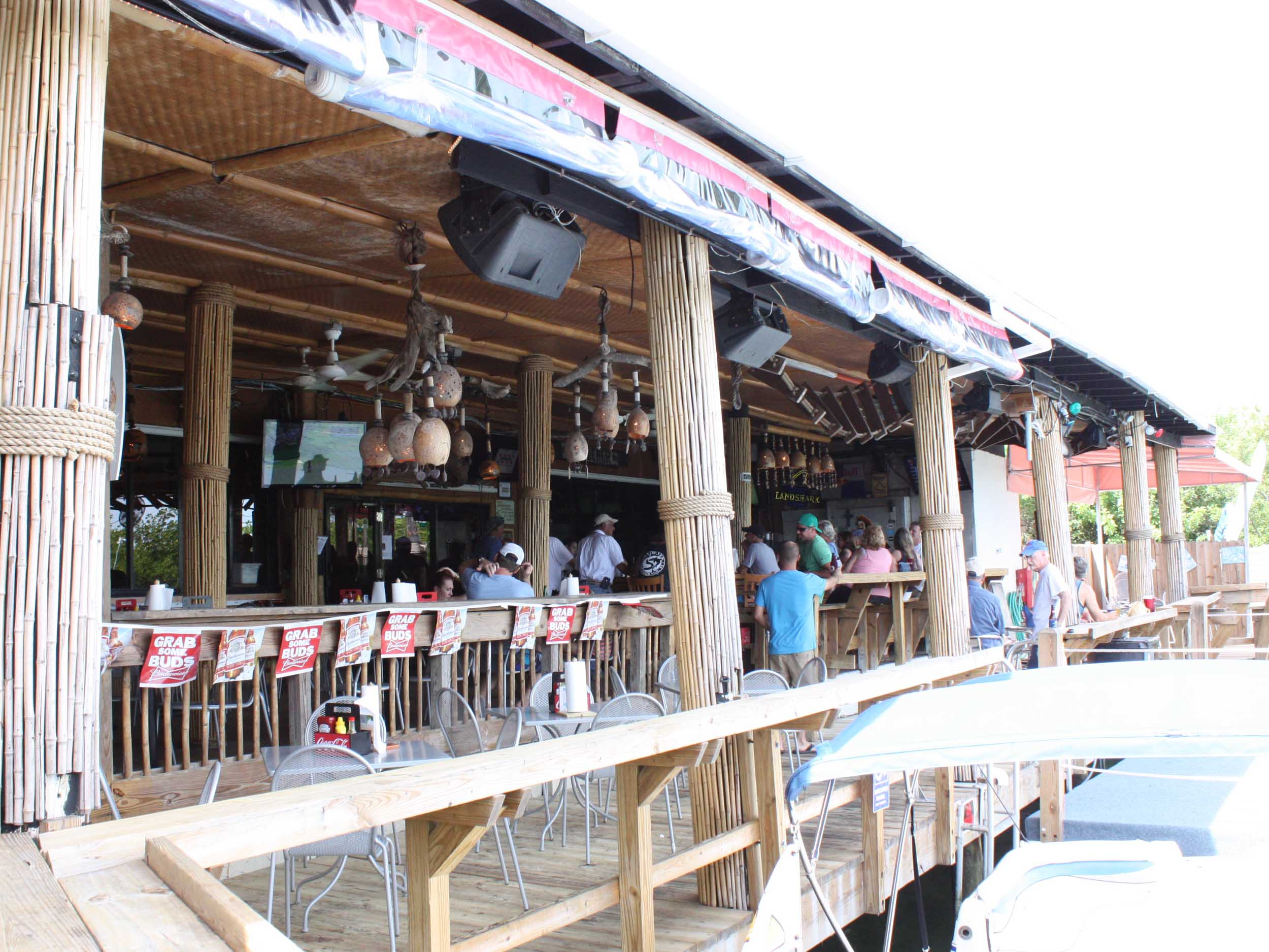Hog Heaven Sports Bar and Grill Back Bar
