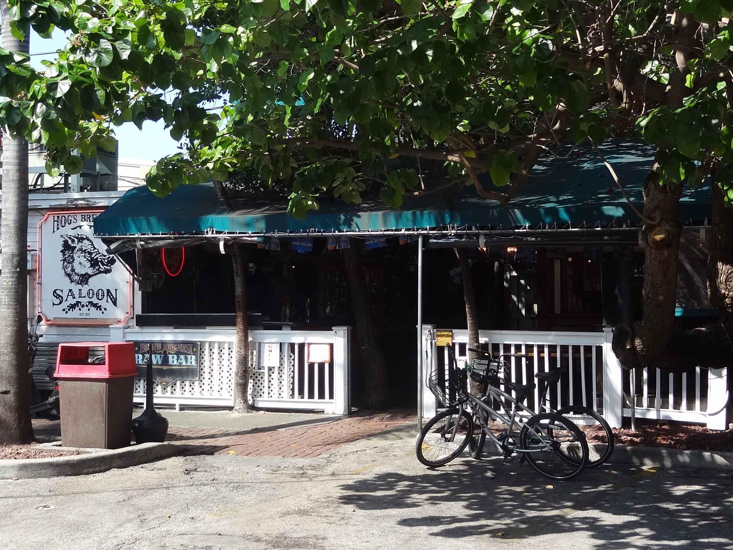 Hog's Breath Saloon Entrance