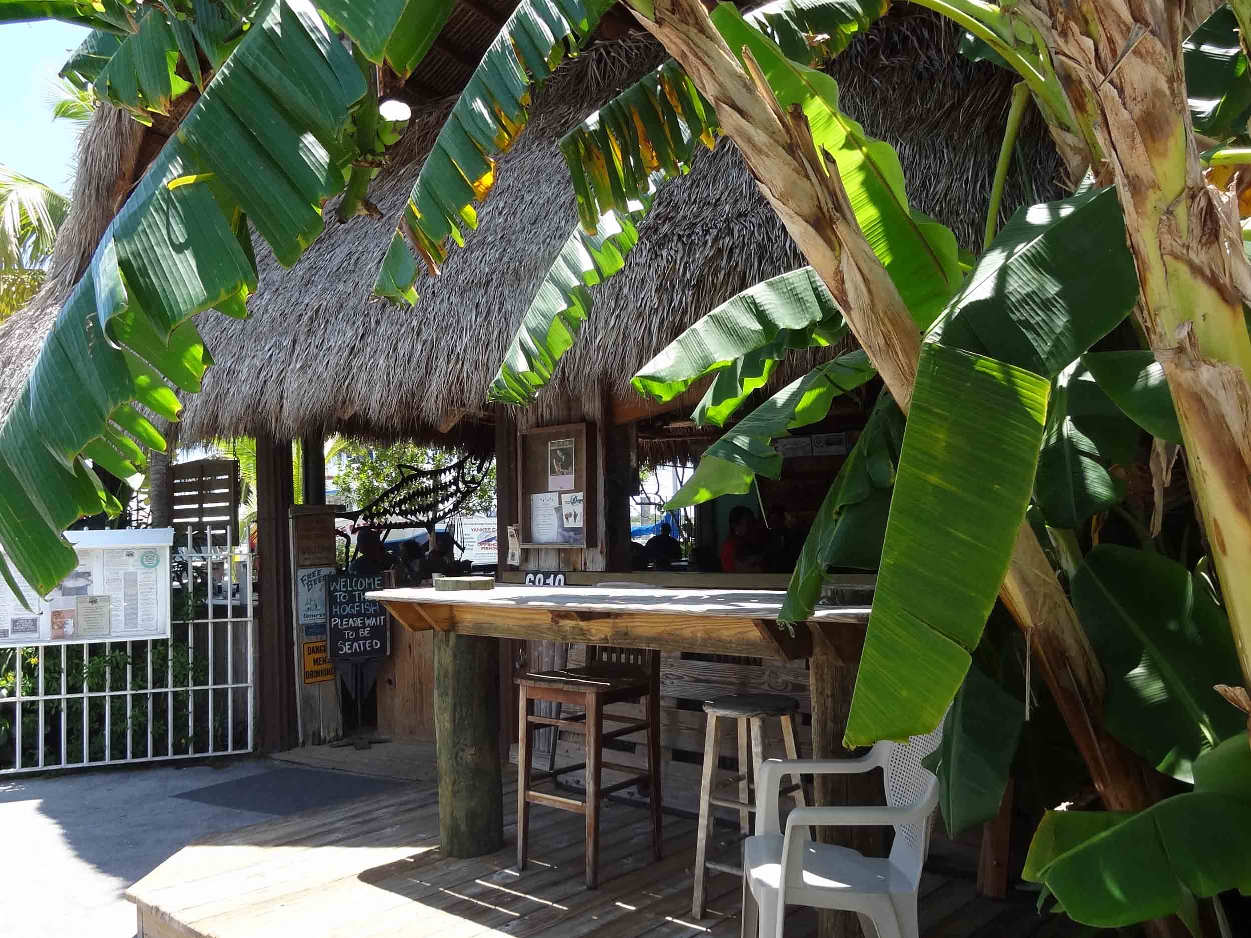 Hogfish Bar and Grill Tiki Bar