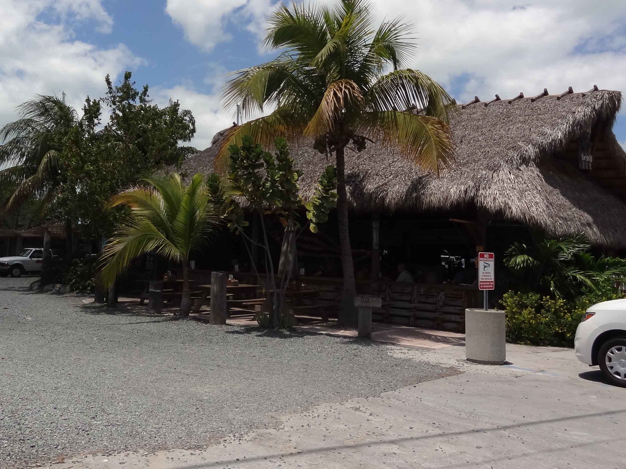 Hogfish Bar and Grill Entrance