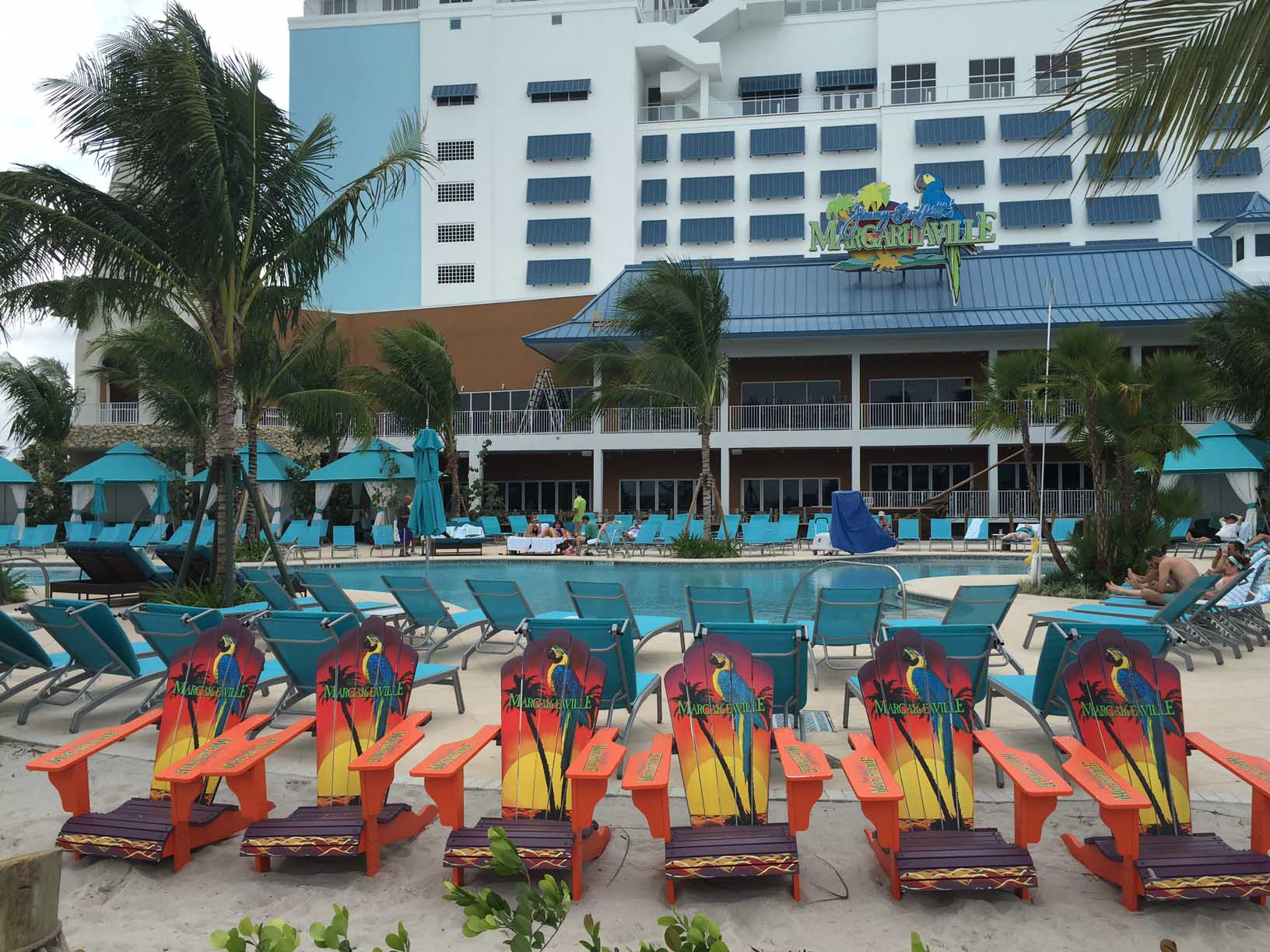 Margaritaville Hollywood Beach Resort Chairs