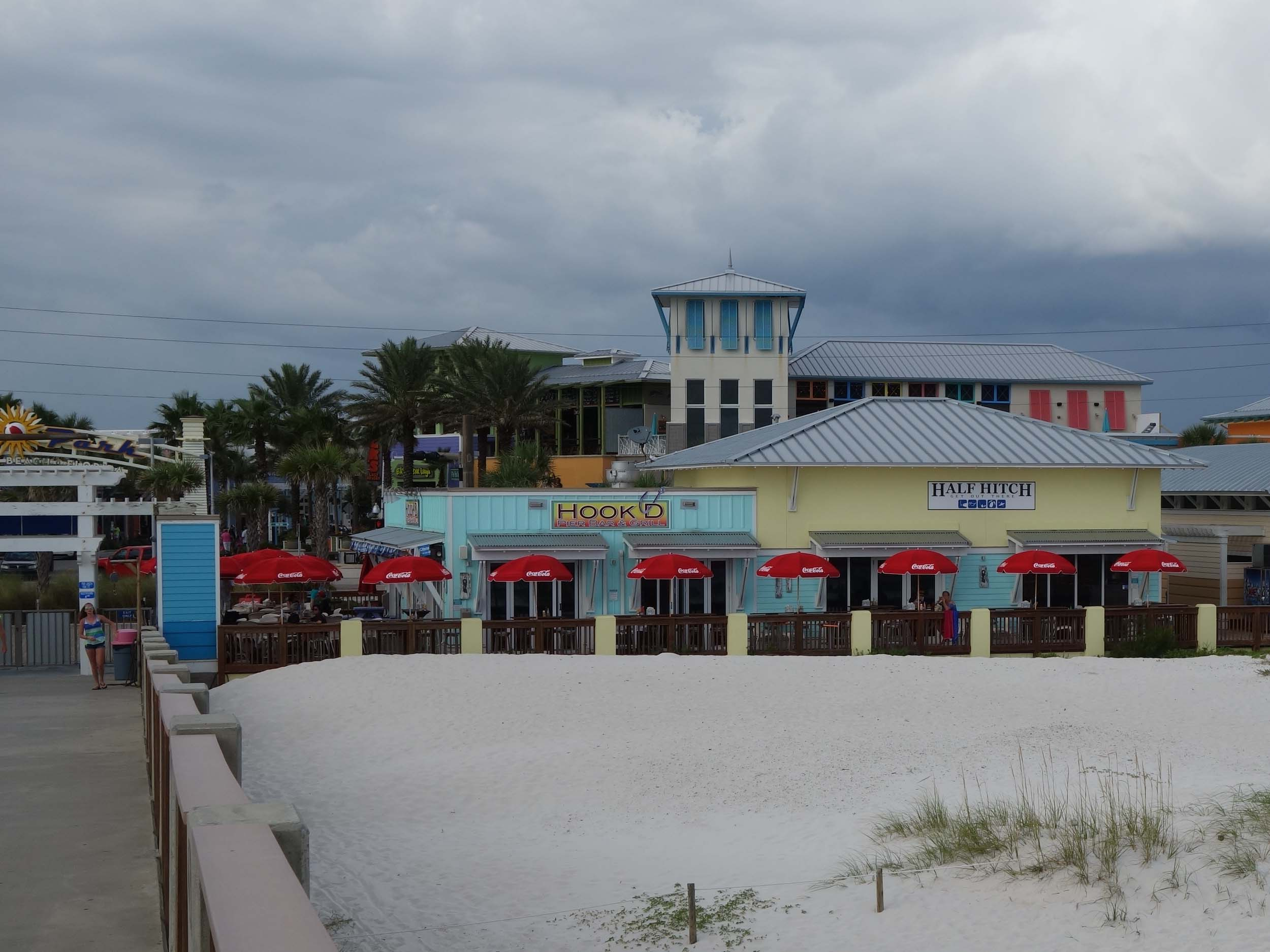 Hook'd Pier Bar and Grill Beach Front