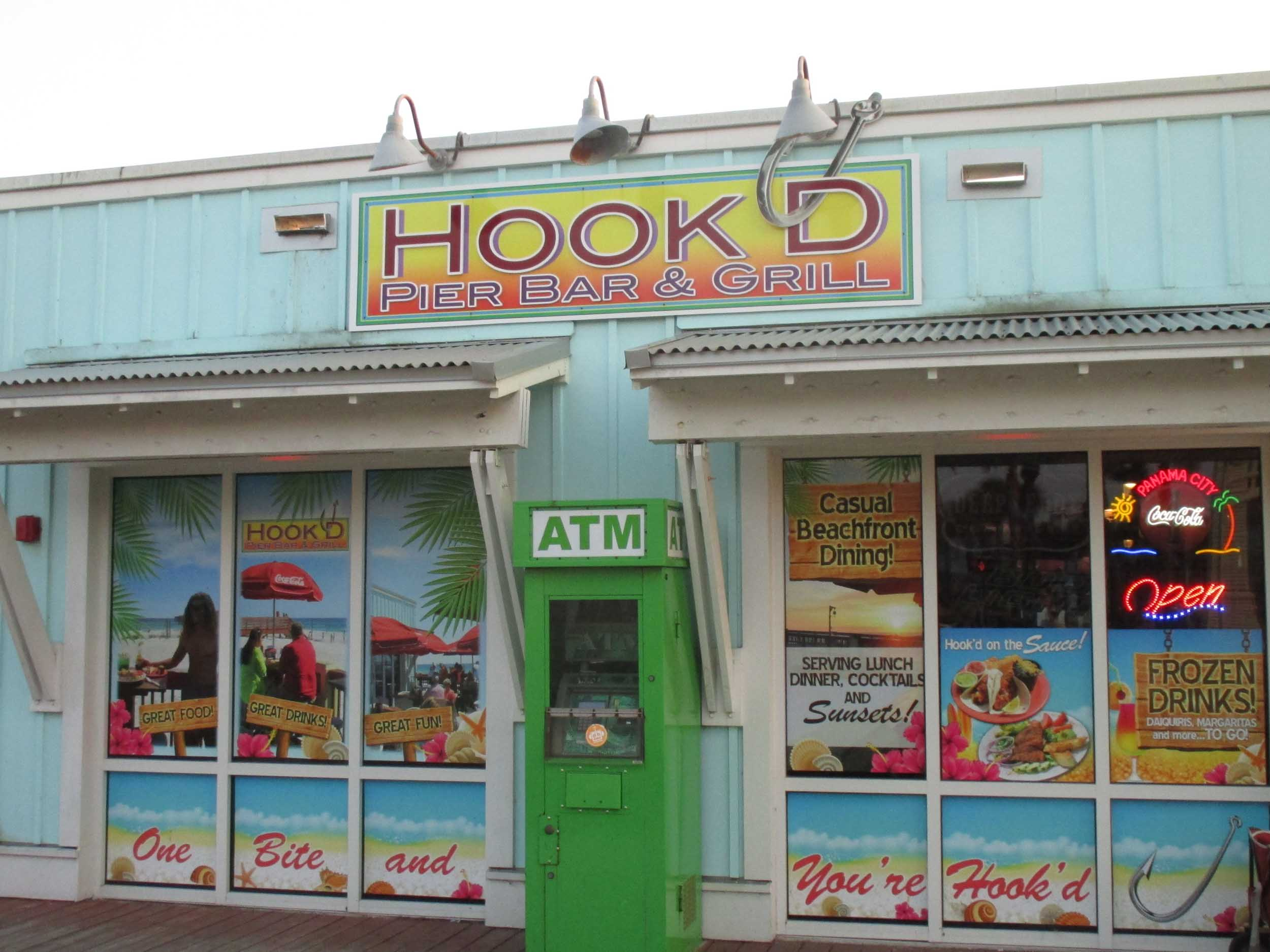 Hook'd Pier Bar and Grill Exterior