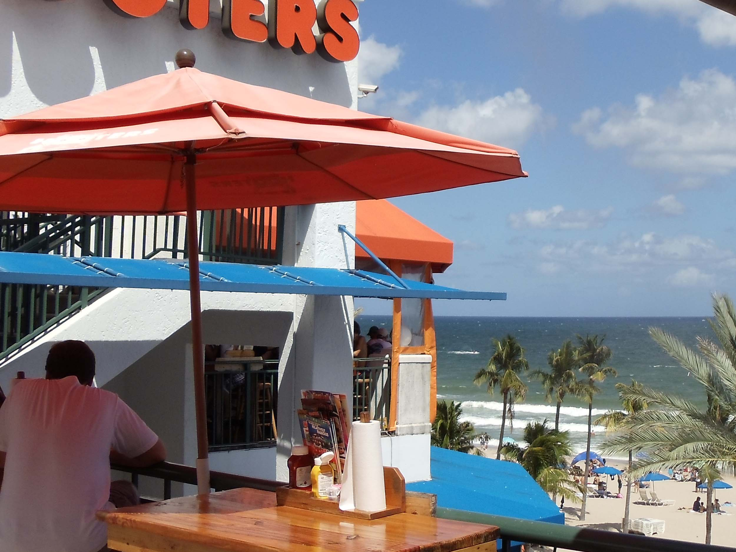 Hooters of Beachplace Beach View
