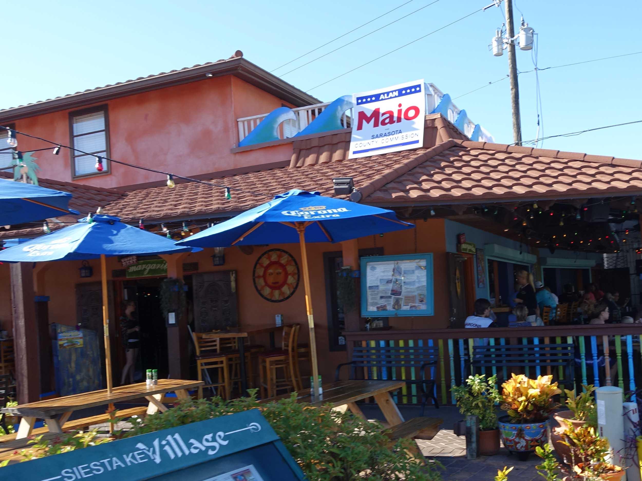 The Hub Baja Grill Exterior