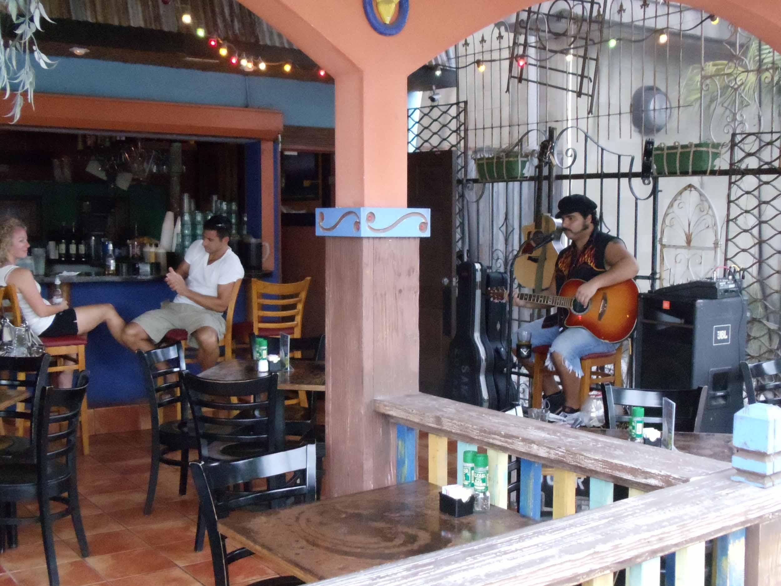 The Hub Baja Grill Patio