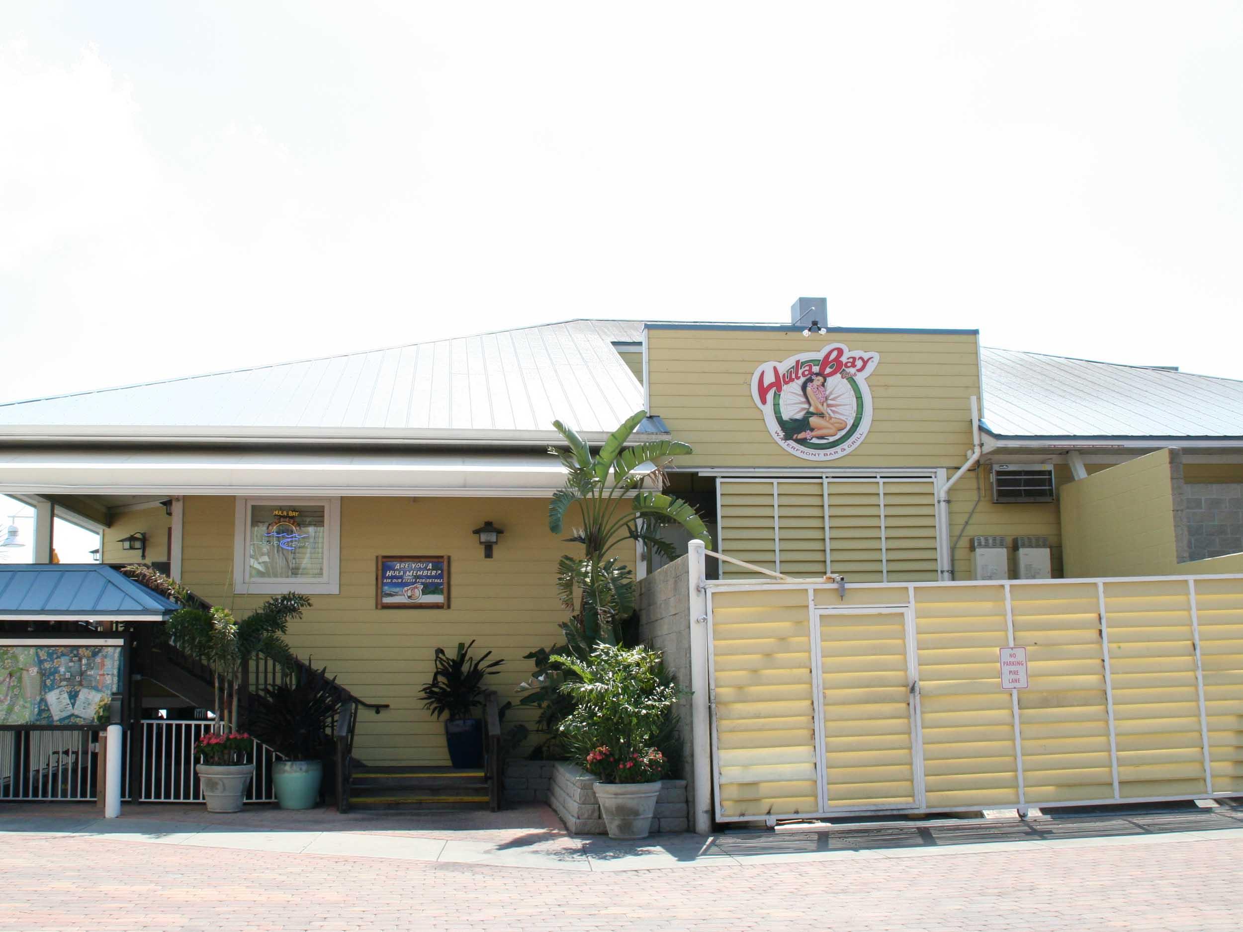 Hula Bay Club and Duke's Retired Surfer's Island Club Entrance